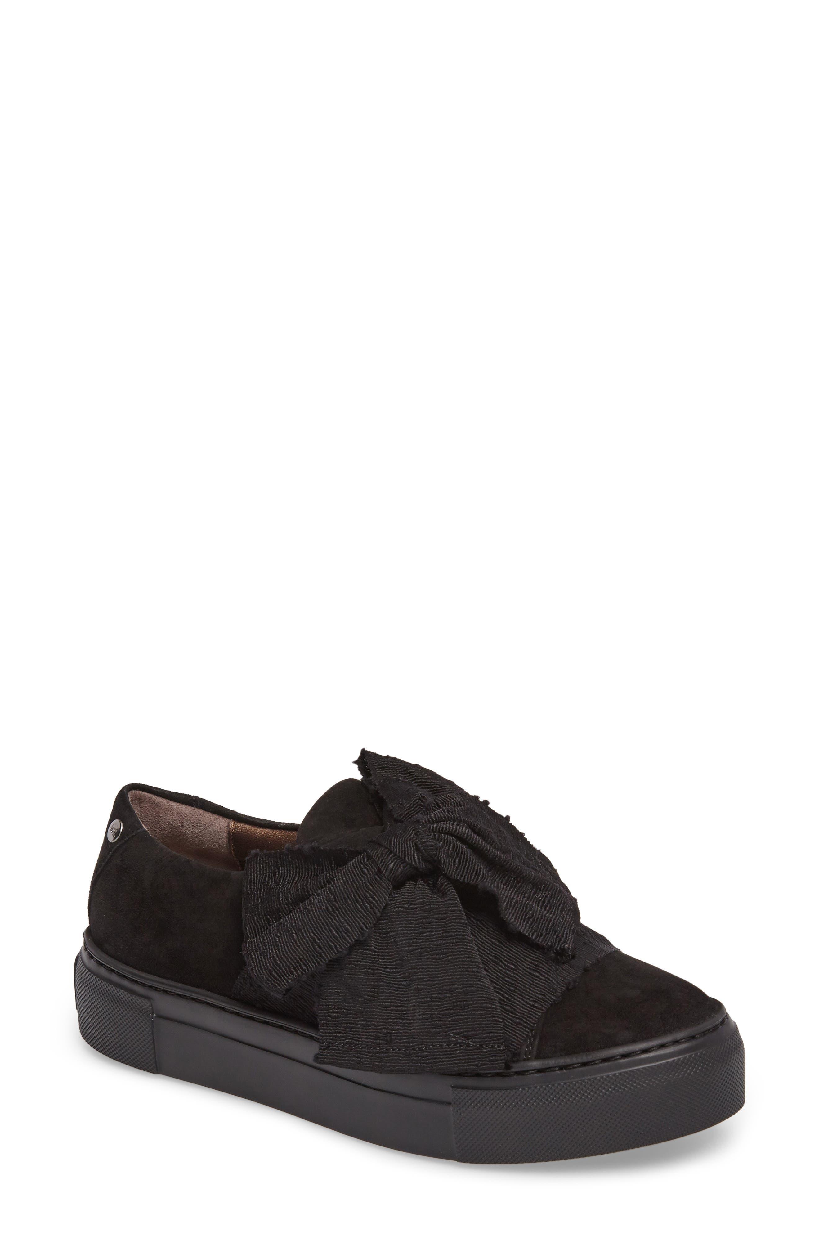 Bow Platform Sneaker,                             Main thumbnail 1, color,                             002