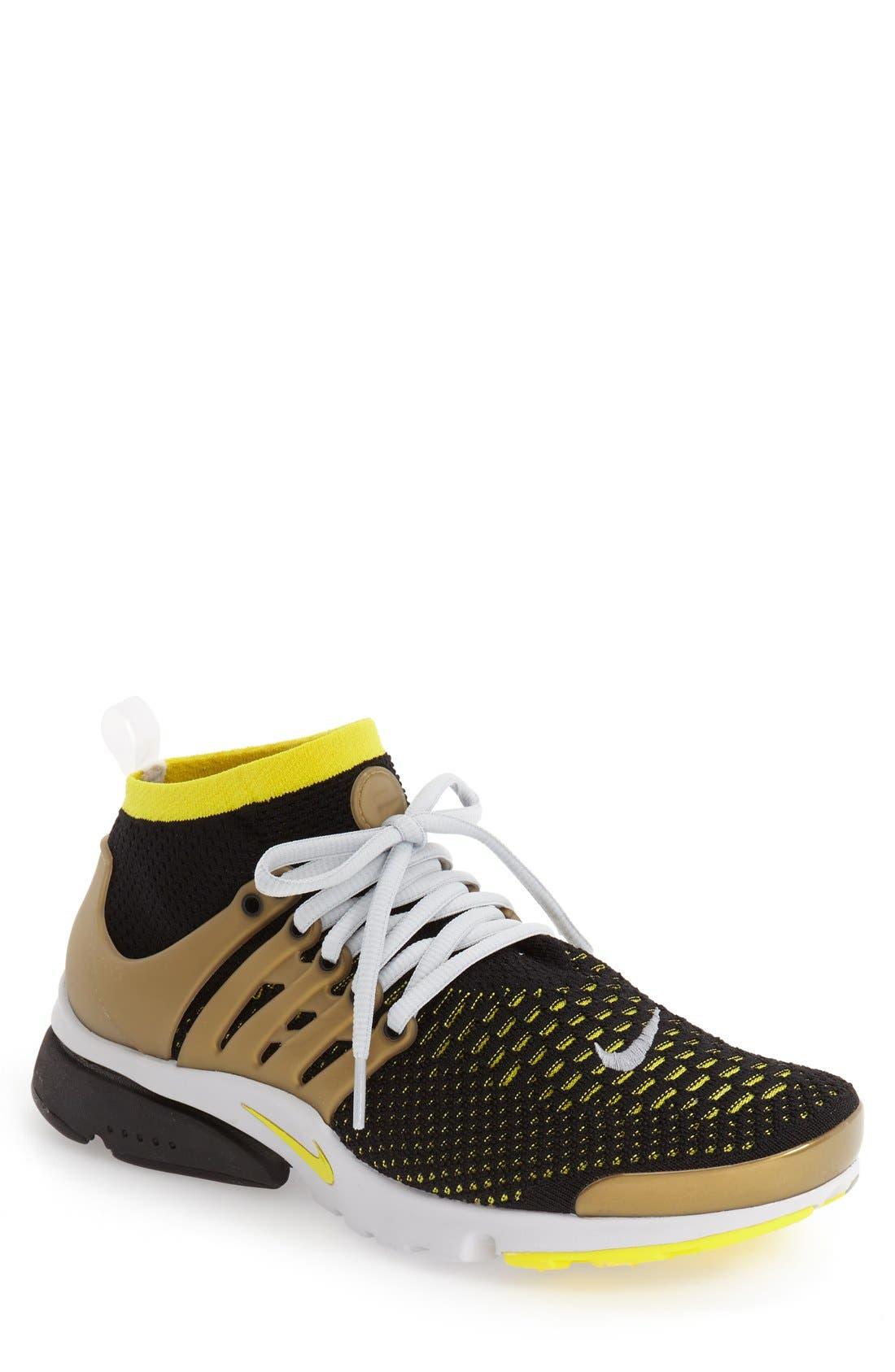 'Air Presto Flyknit Ultra' Sneaker,                             Main thumbnail 1, color,                             007