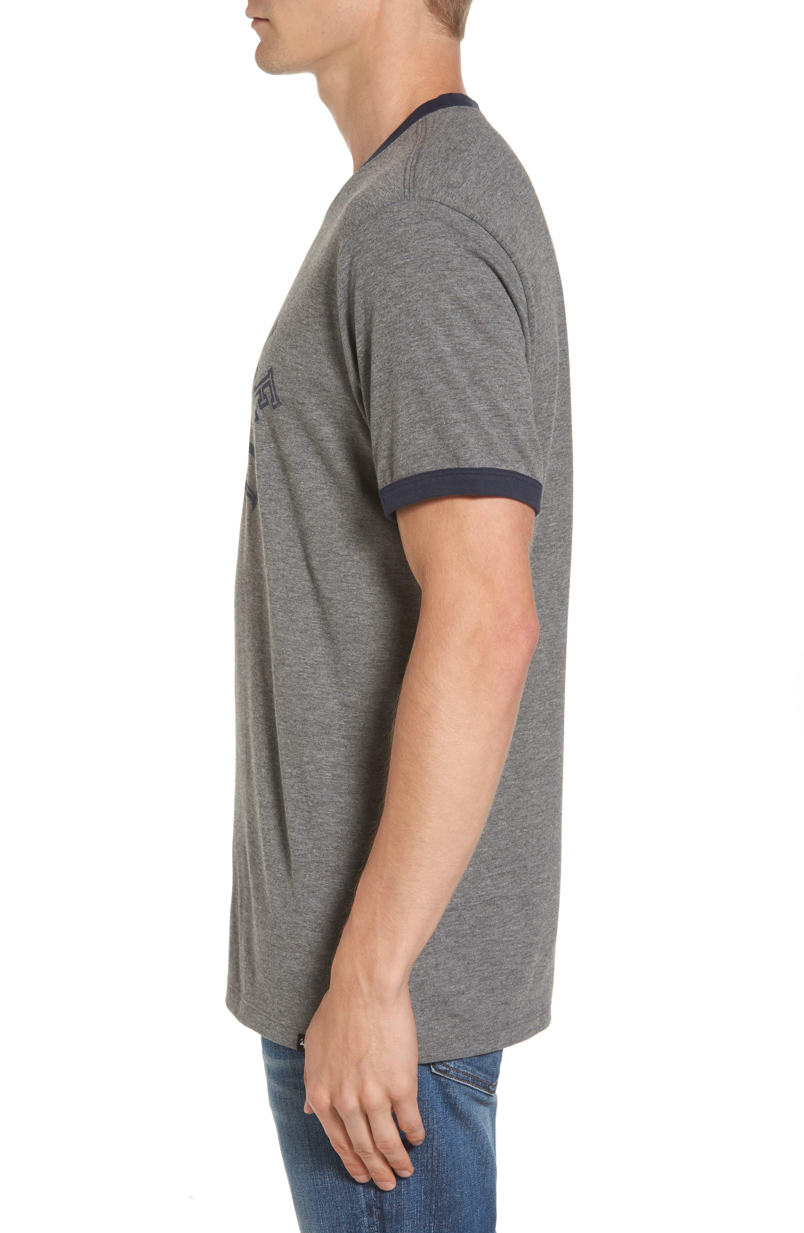 Seattle Seahawks Ringer T-Shirt,                             Alternate thumbnail 3, color,                             020