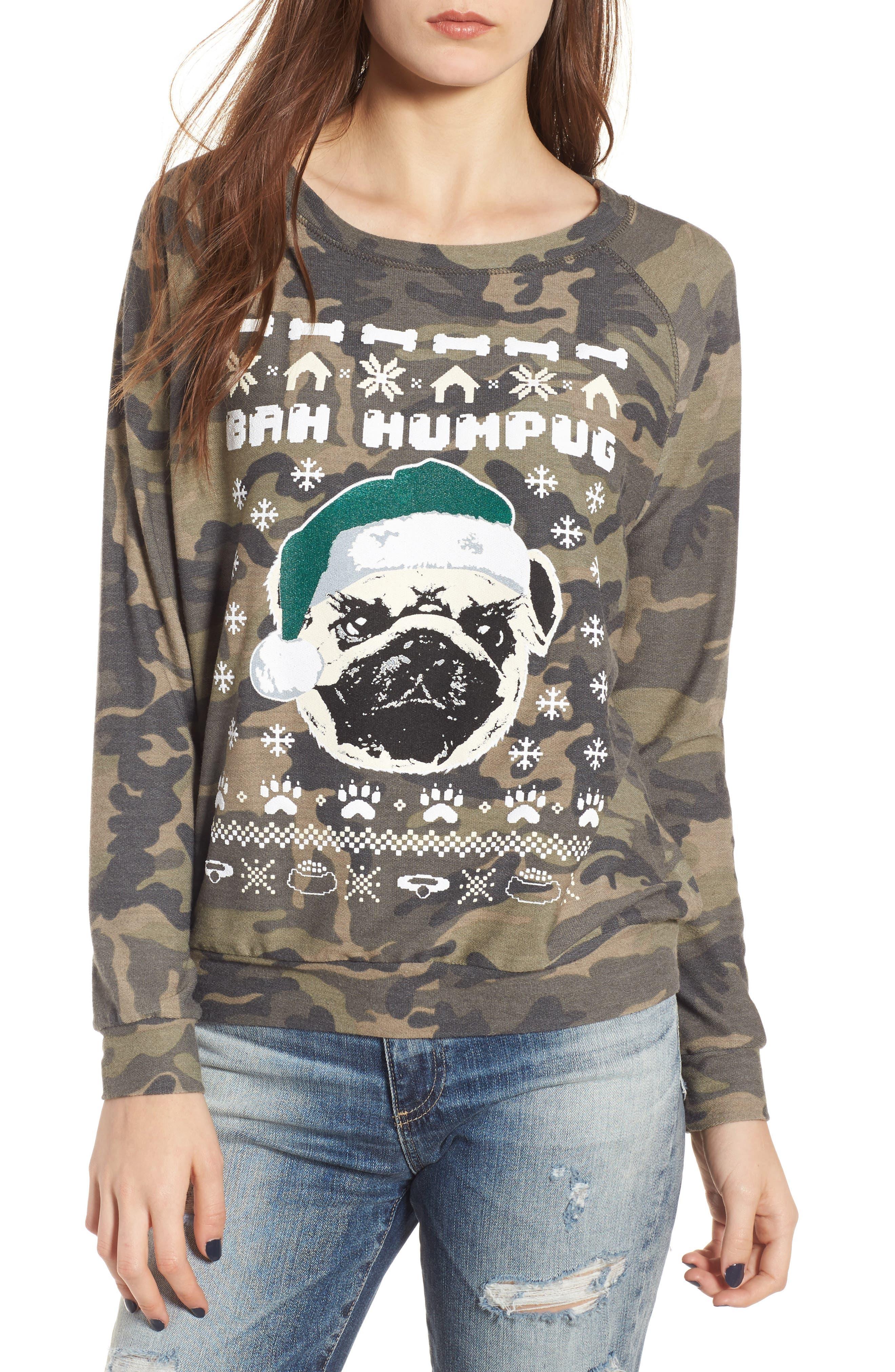Bah Humpug Sweatshirt,                         Main,                         color, 300