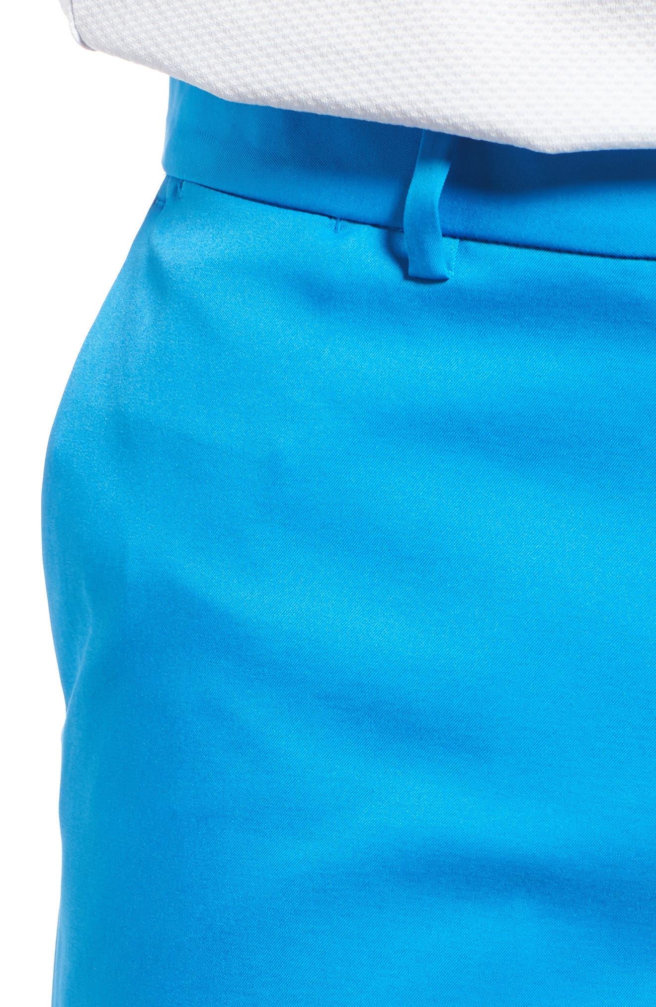 Flat Front Golf Shorts,                             Alternate thumbnail 34, color,