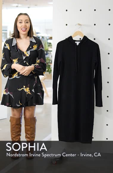 Cashmere Blend Hoodie Dress, sales video thumbnail