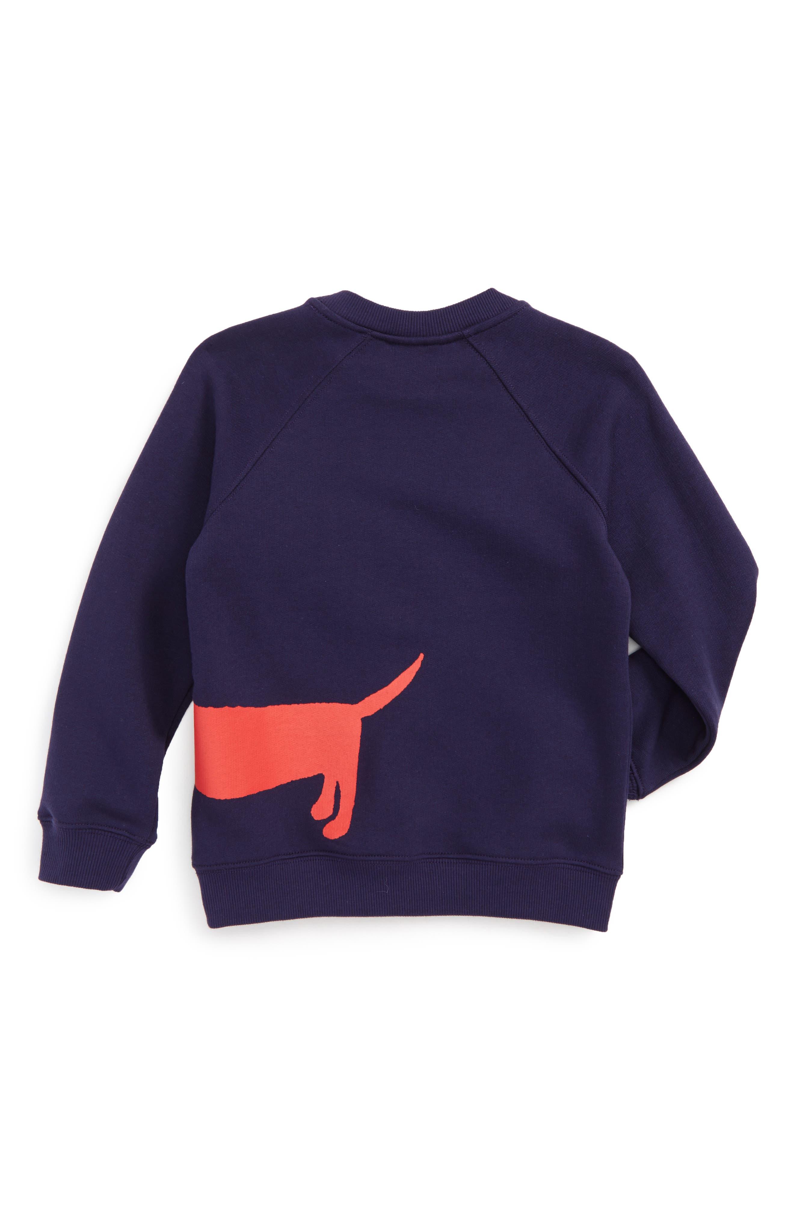 Dog Sweatshirt,                             Alternate thumbnail 2, color,                             410