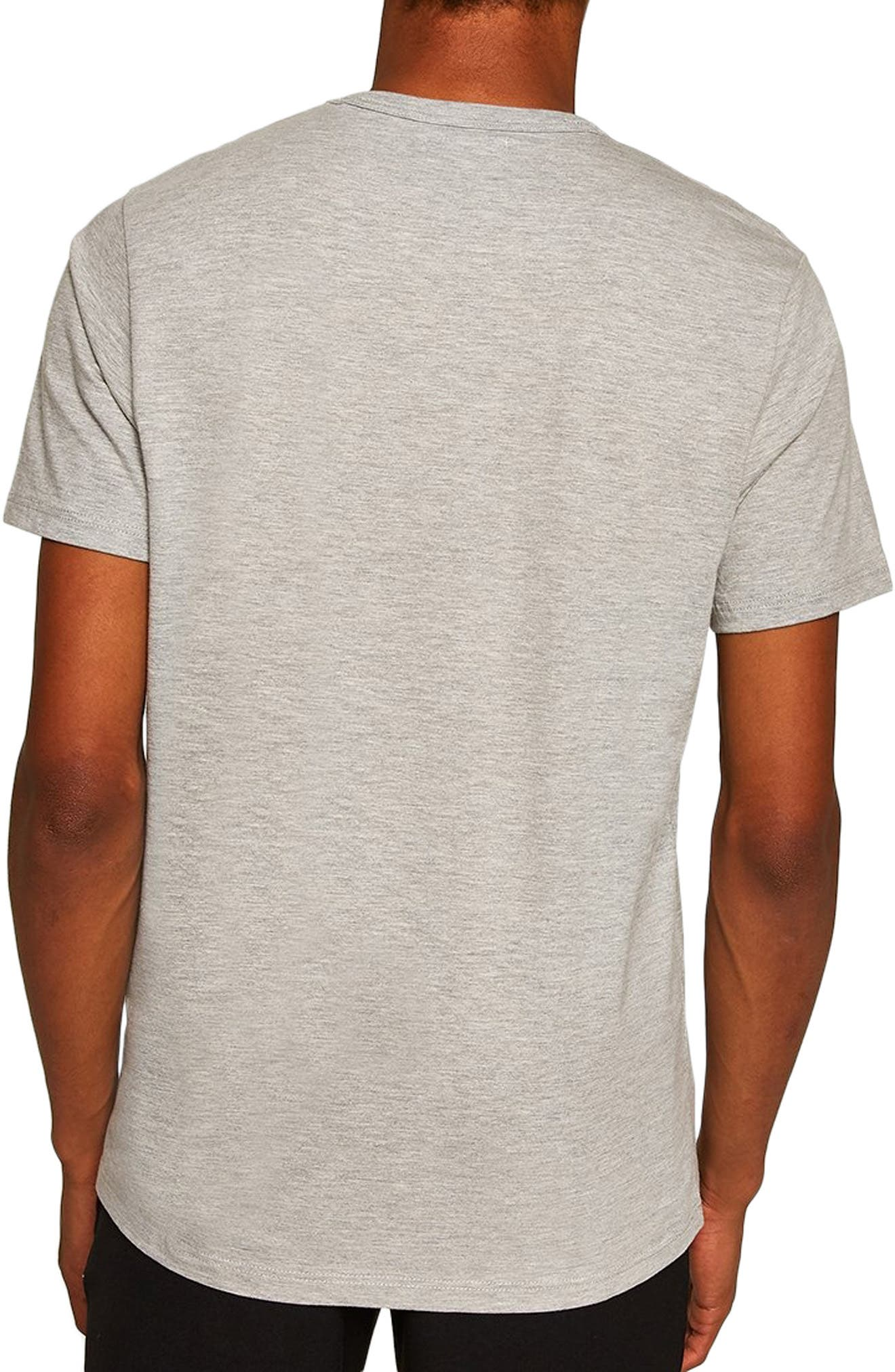 Classic Fit T-Shirt,                             Alternate thumbnail 2, color,                             LIGHT GREY
