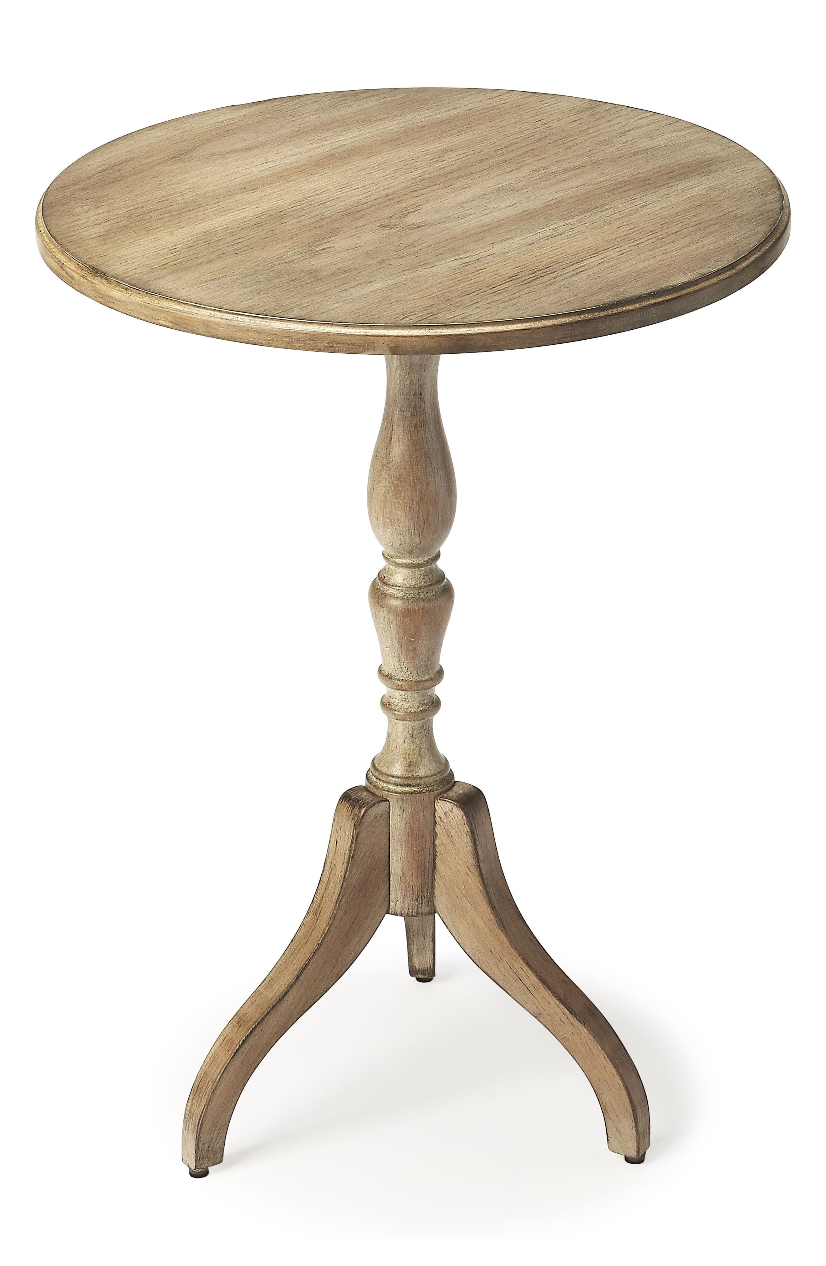 Wood Pedestal Table,                             Main thumbnail 1, color,                             020