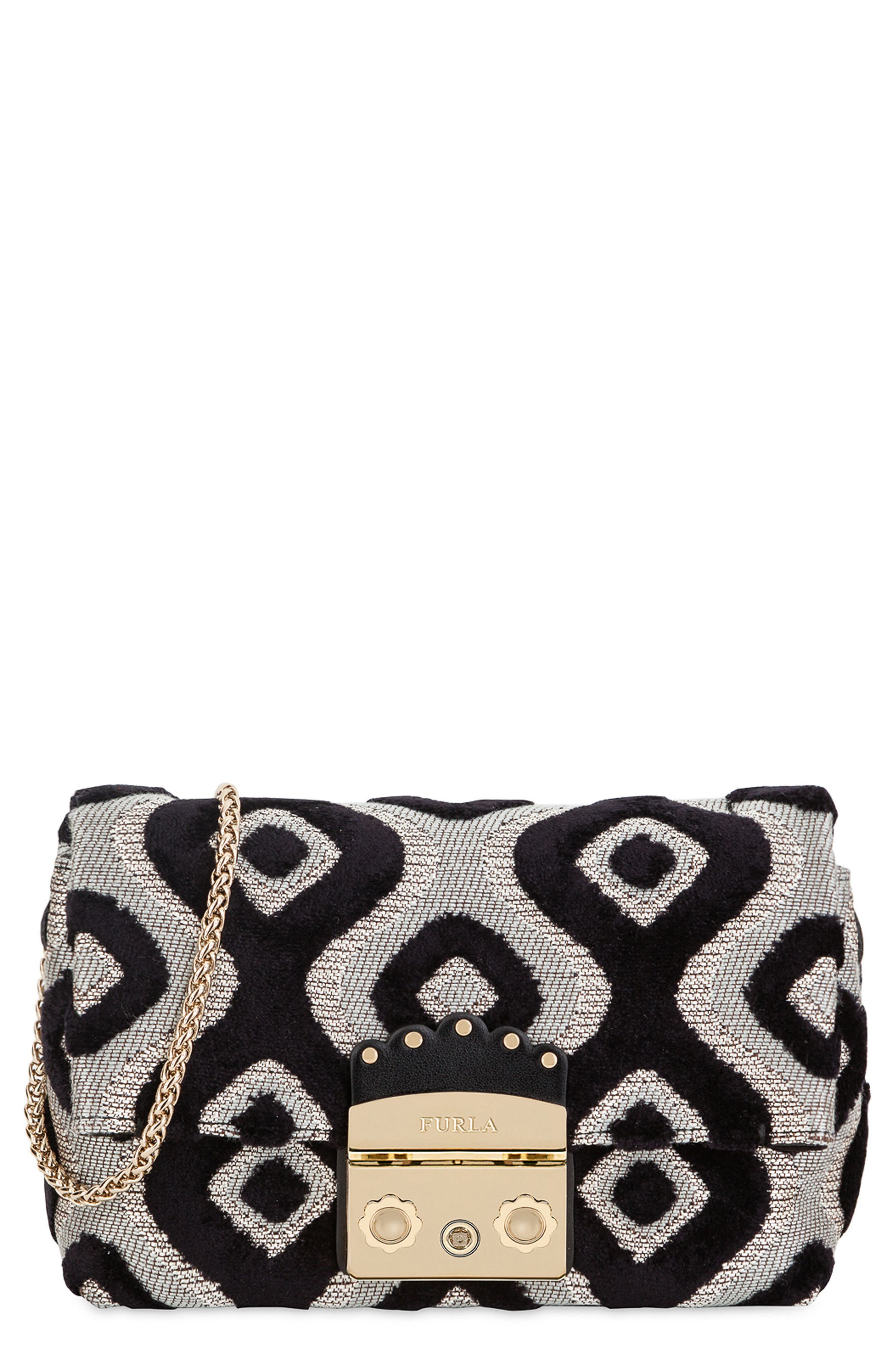 Mini Metropolis Nuvola Jacquard Crossbody Bag, Main, color, 710