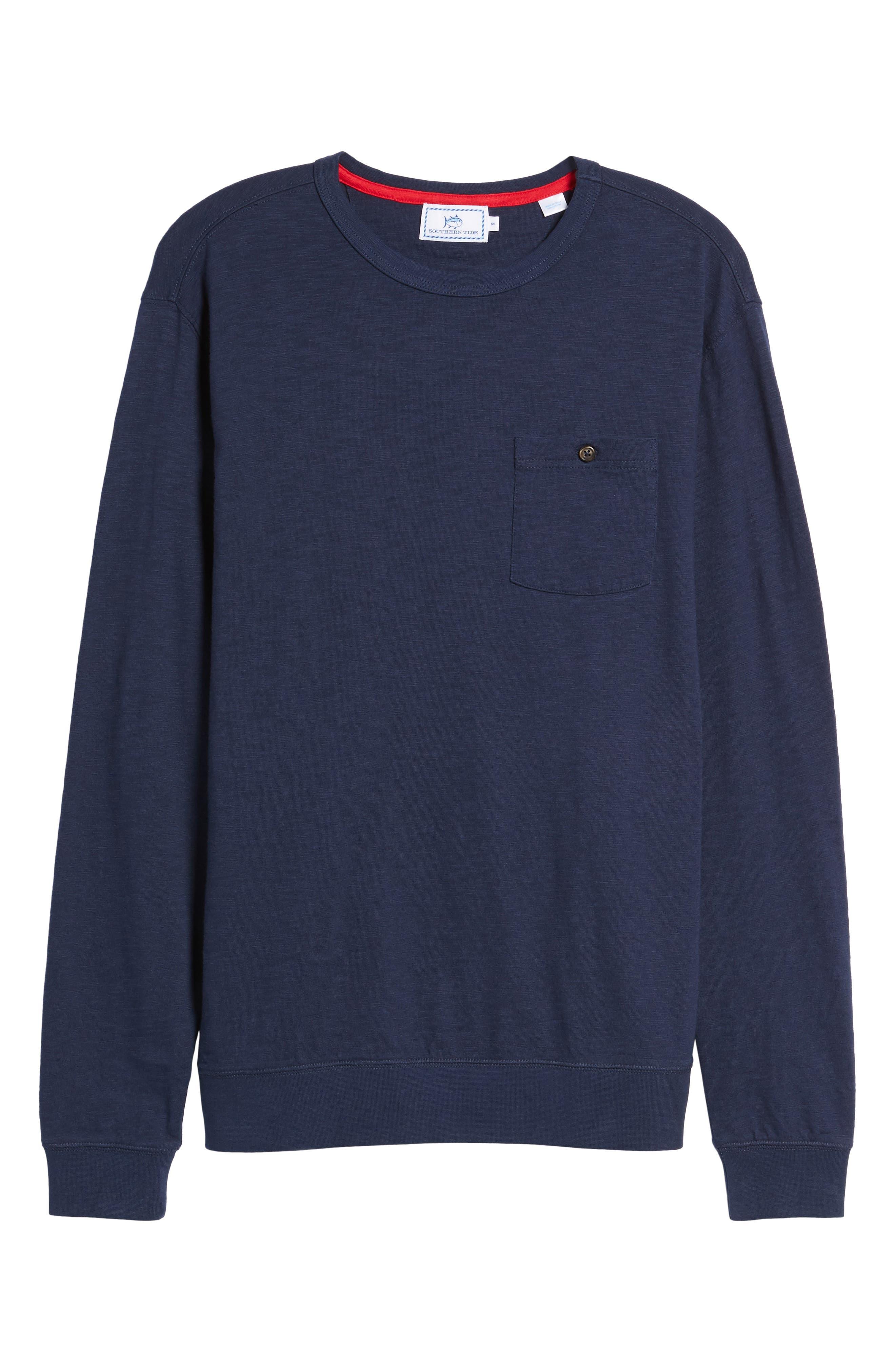 Montford Slub Pocket T-Shirt,                             Alternate thumbnail 6, color,                             408