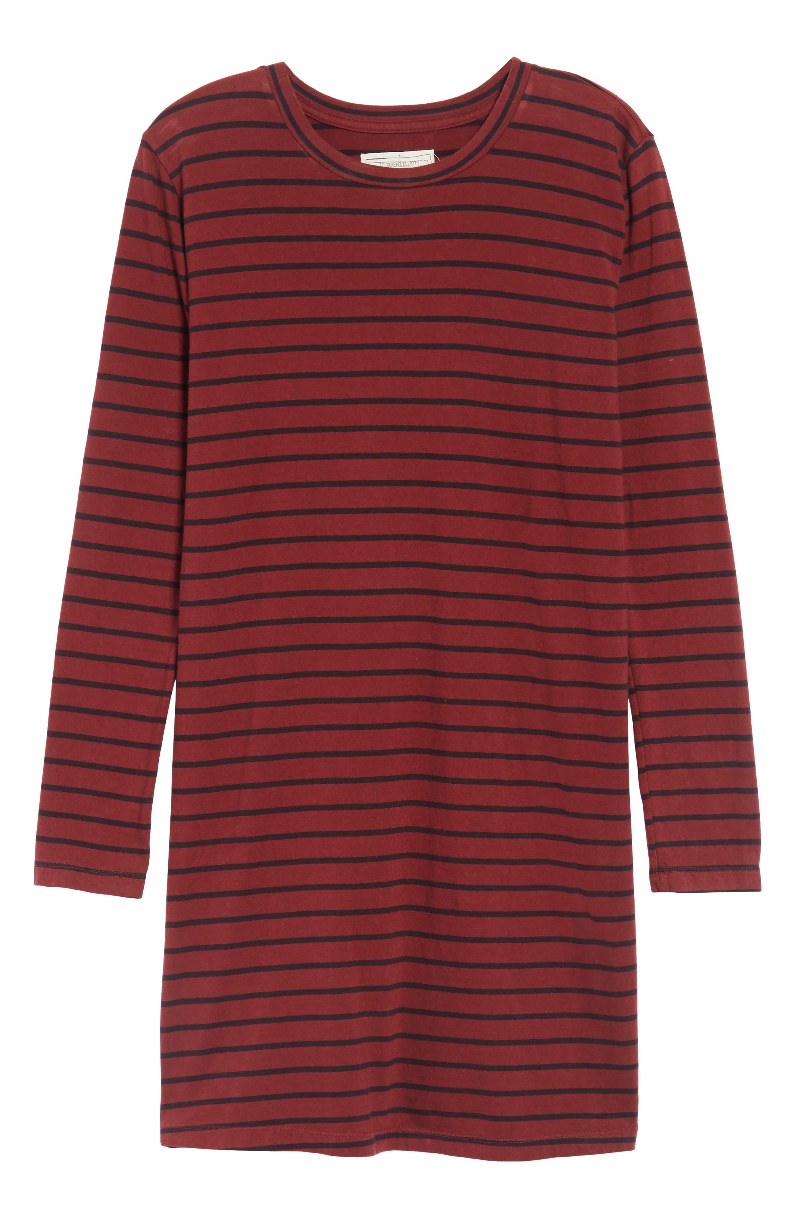 The Beatnik T-Shirt Dress,                             Alternate thumbnail 6, color,                             601