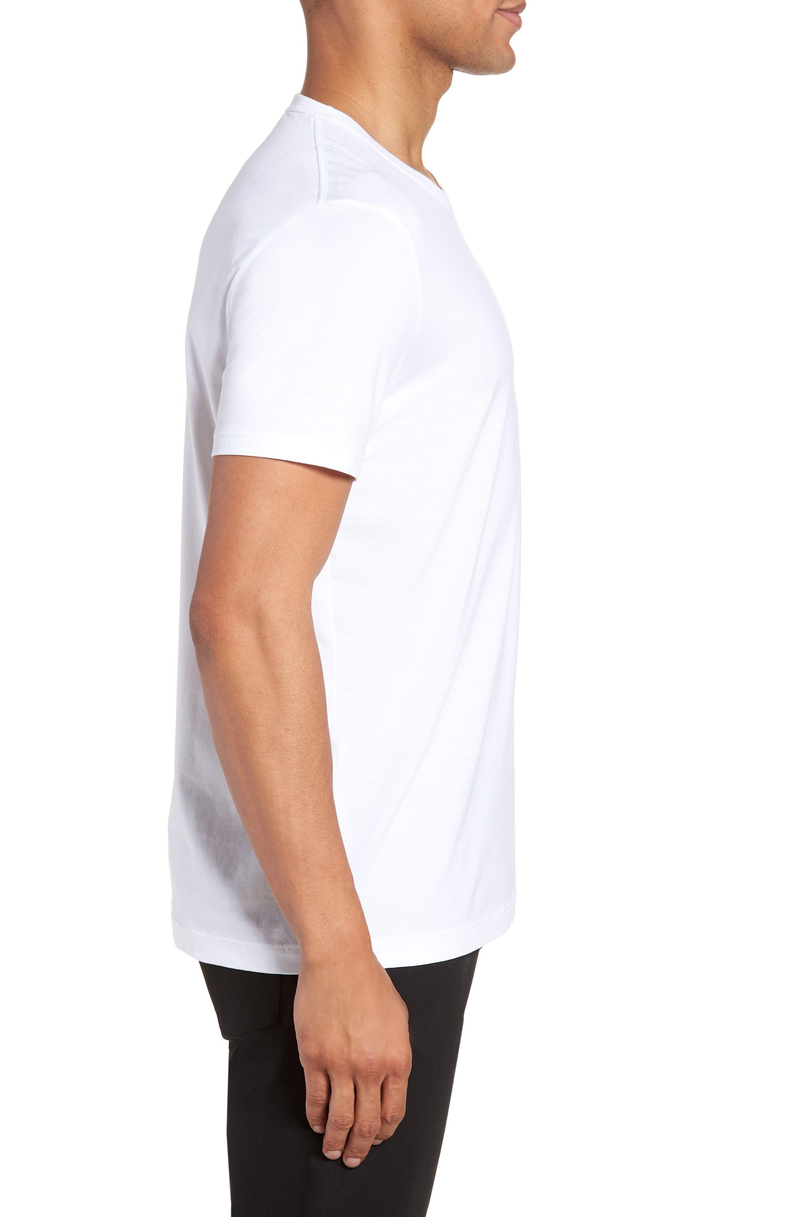 Tiburt Regular Fit Crewneck T-Shirt,                             Alternate thumbnail 8, color,