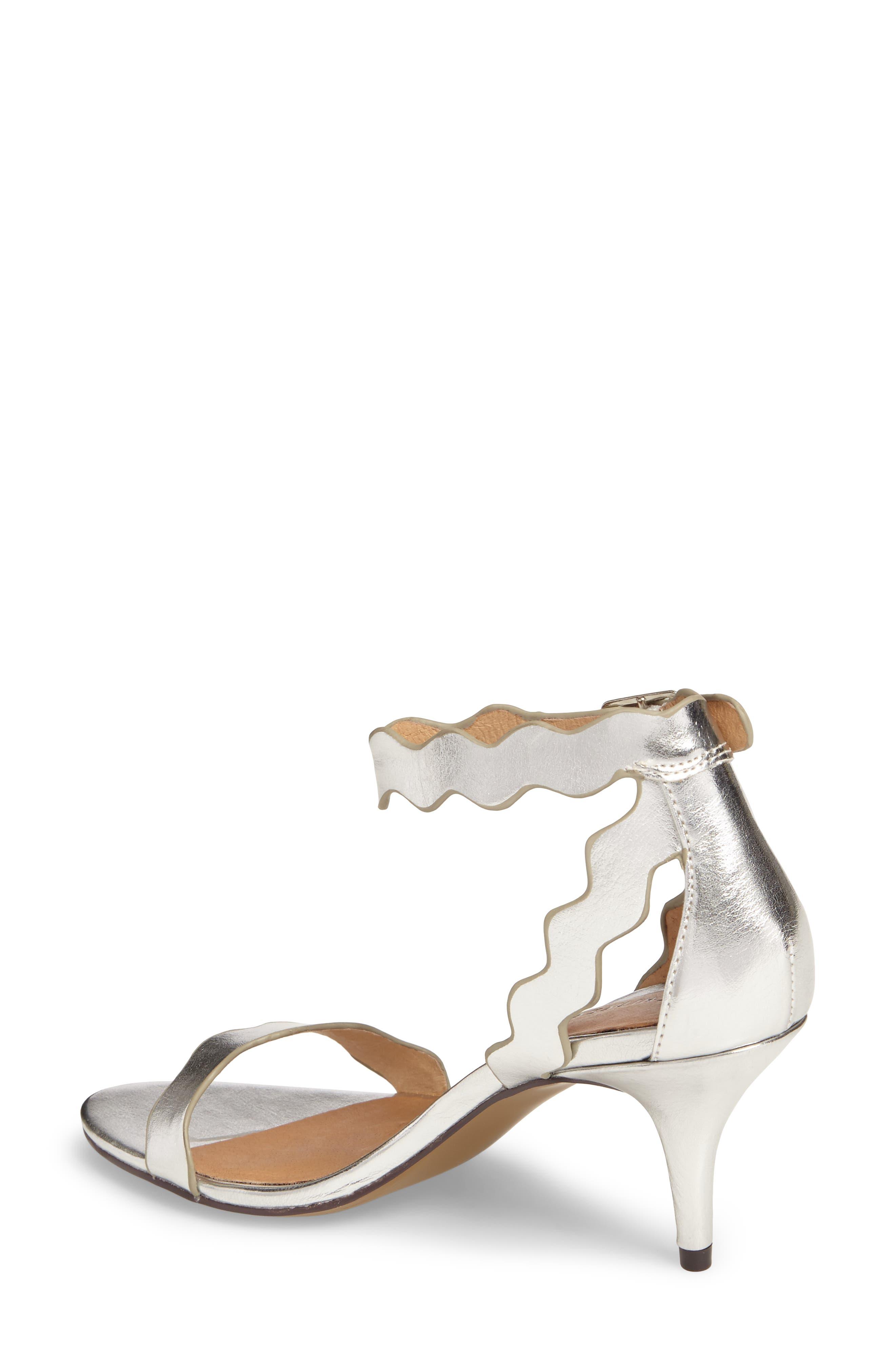 'Rubie' Scalloped Ankle Strap Sandal,                             Alternate thumbnail 2, color,                             040