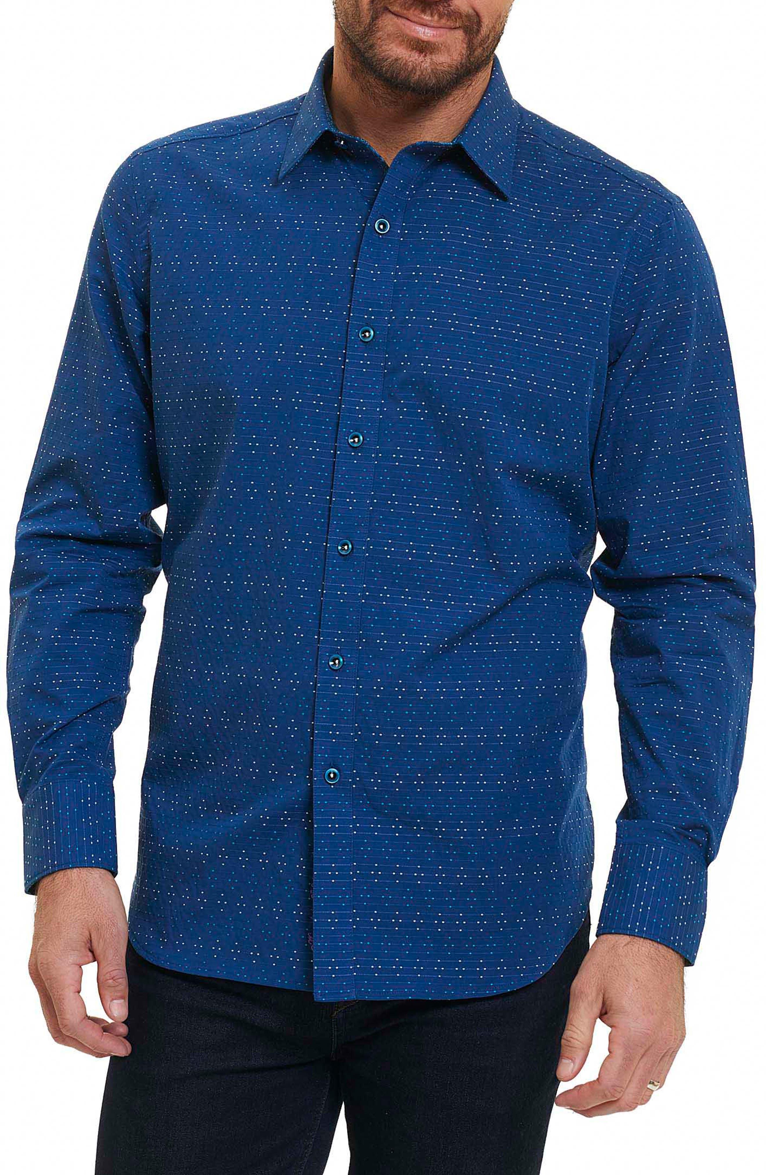 Dev Classic Fit Sport Shirt,                         Main,                         color, 410