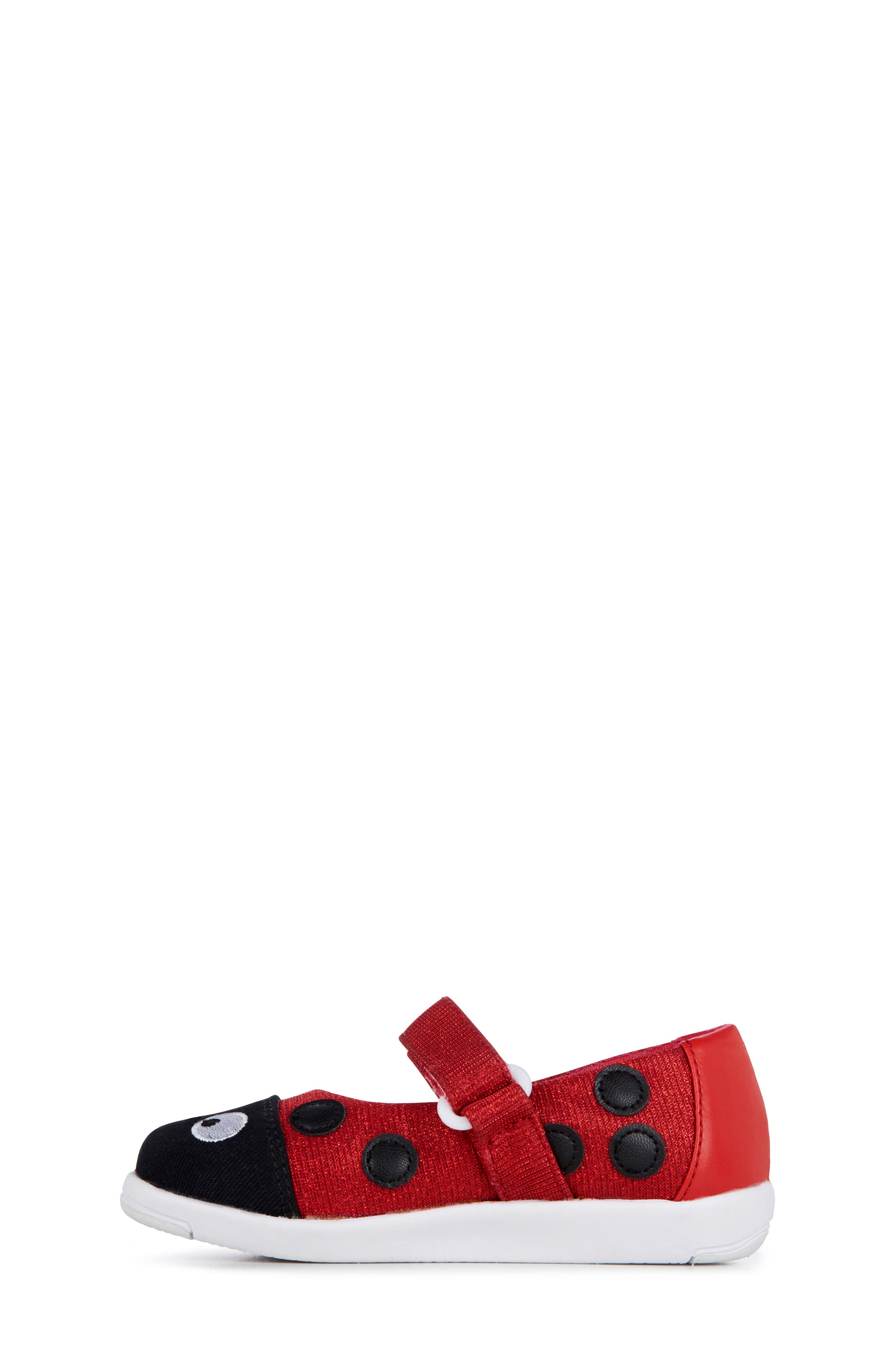 Ladybug Mary Jane,                             Alternate thumbnail 3, color,                             RED