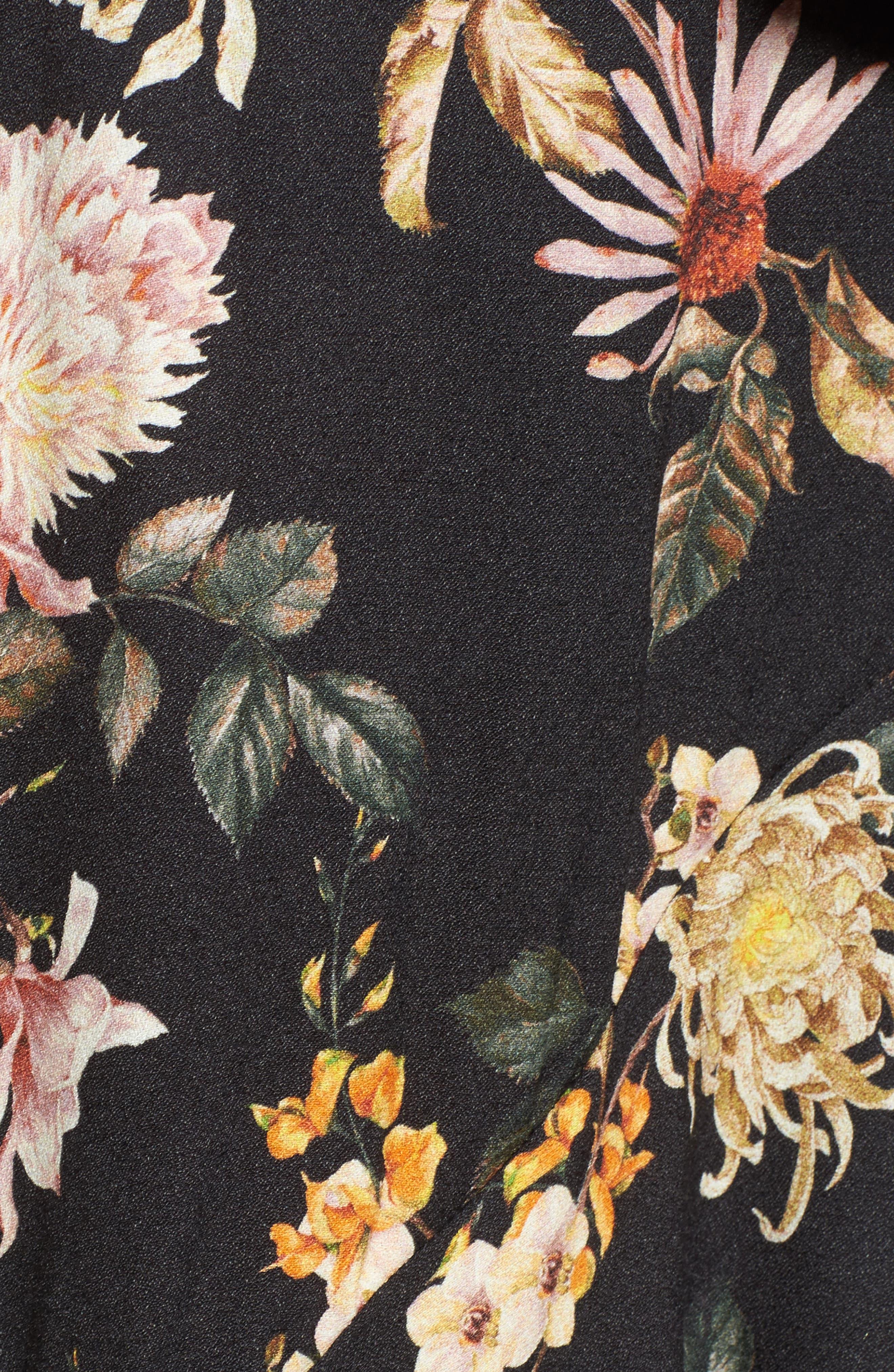 Grace Asymmetrical Ruffle Skirt,                             Alternate thumbnail 10, color,