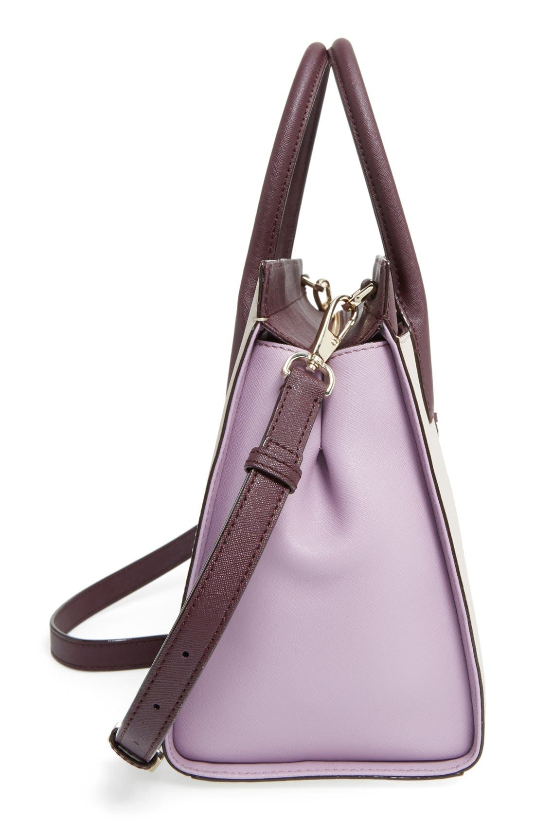 cameron street - candace leather satchel,                             Alternate thumbnail 101, color,