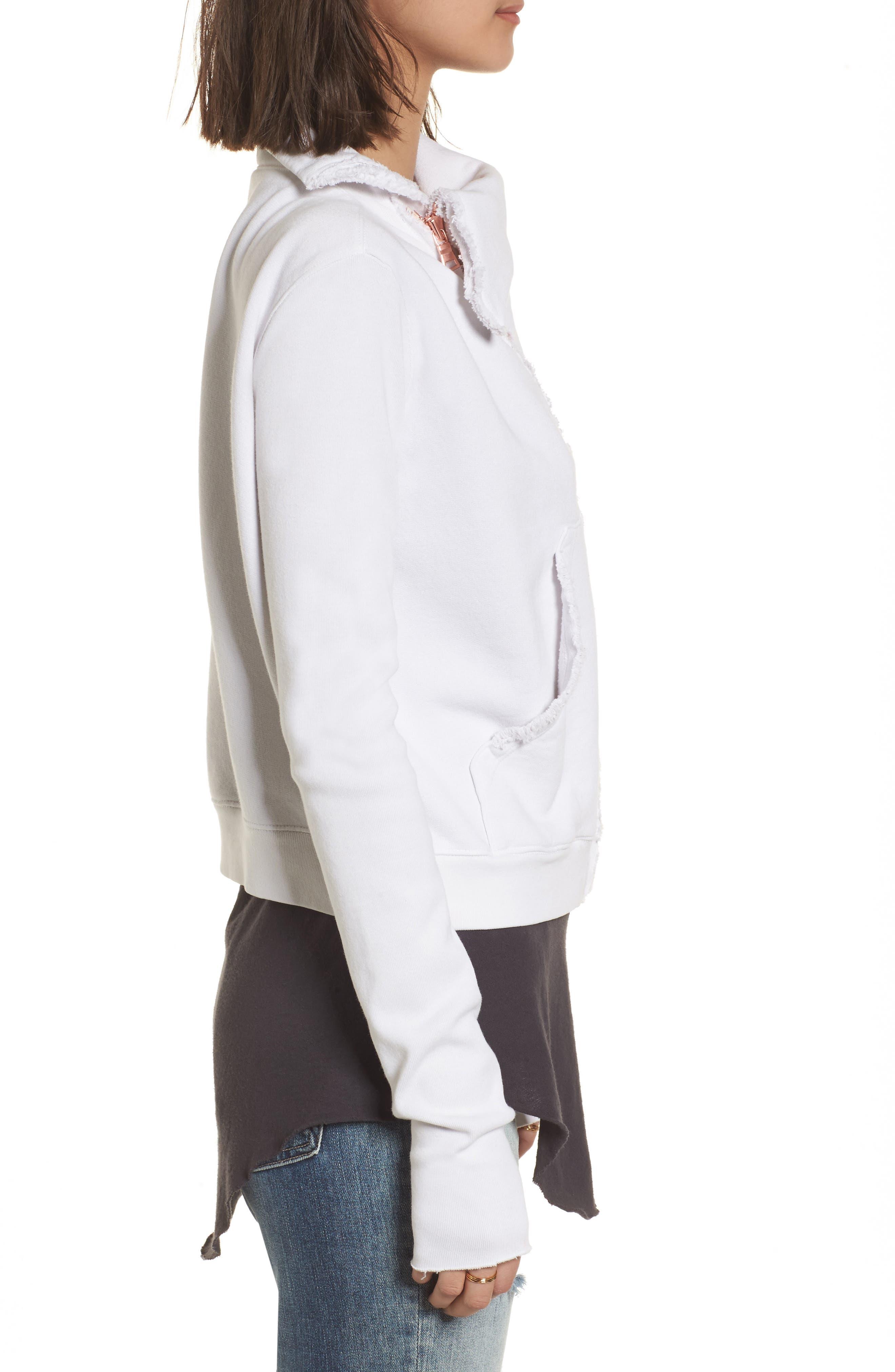 Zip Fleece Jacket,                             Alternate thumbnail 3, color,