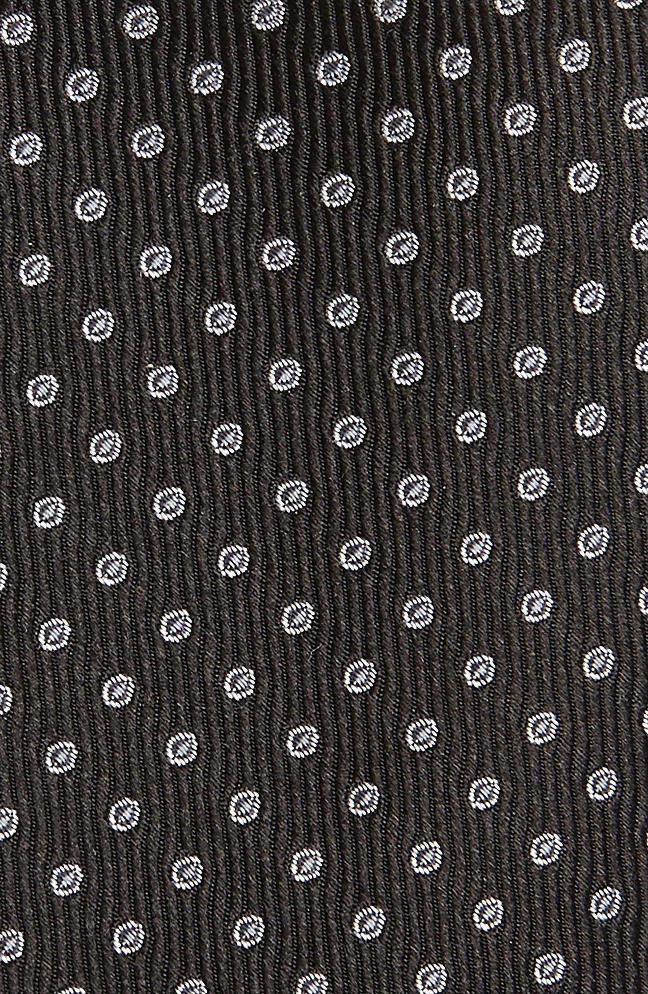 Newport Dot Silk Tie,                             Alternate thumbnail 10, color,