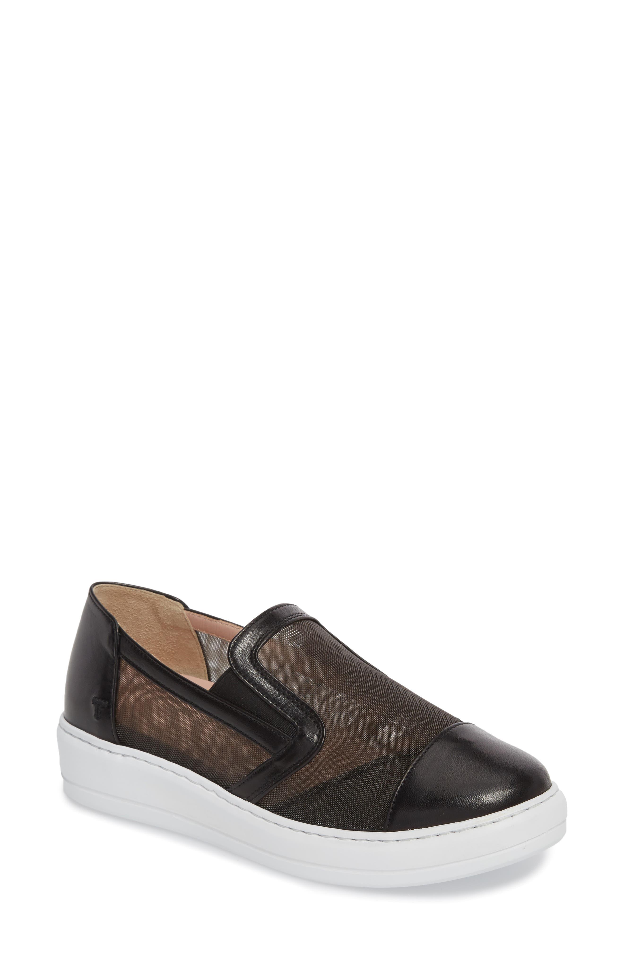 Taryn Rose Calandra Slip-On Sneaker,                             Main thumbnail 1, color,                             004