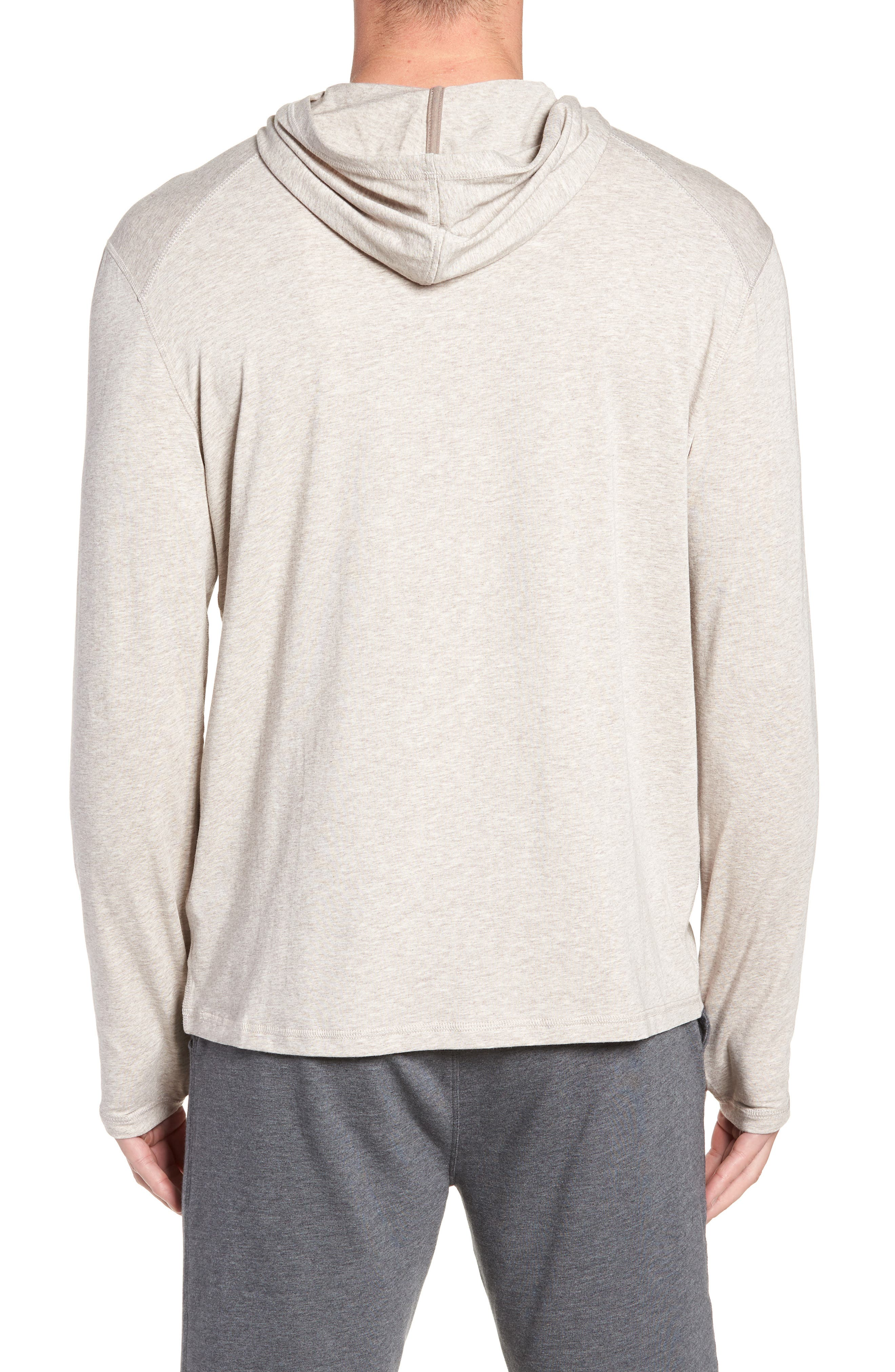 Carrollton Regular Fit Pullover Hoodie,                             Alternate thumbnail 2, color,                             CRATER HEATHER