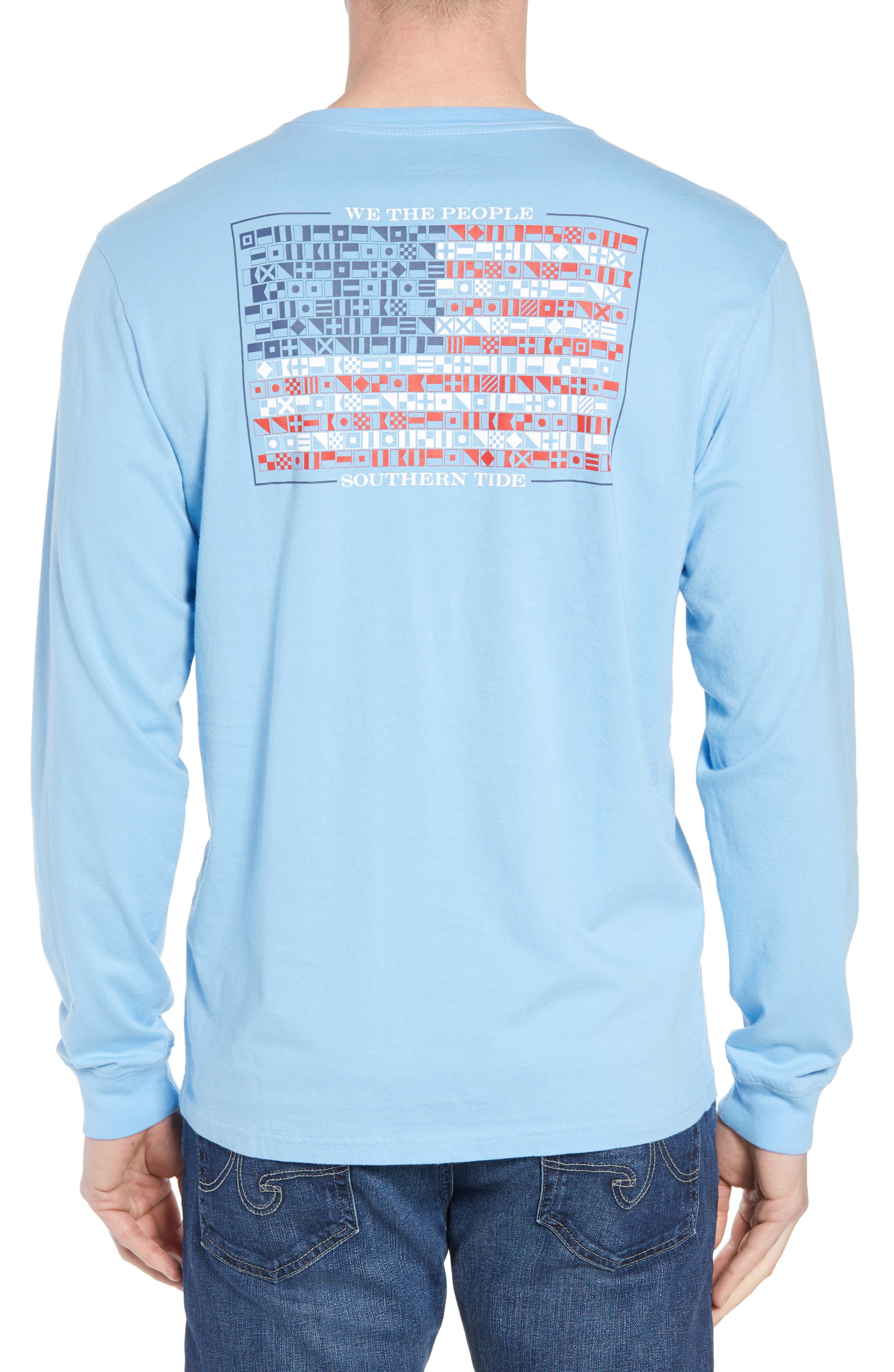 We the People Regular Fit Long Sleeve T-Shirt,                             Alternate thumbnail 2, color,                             392