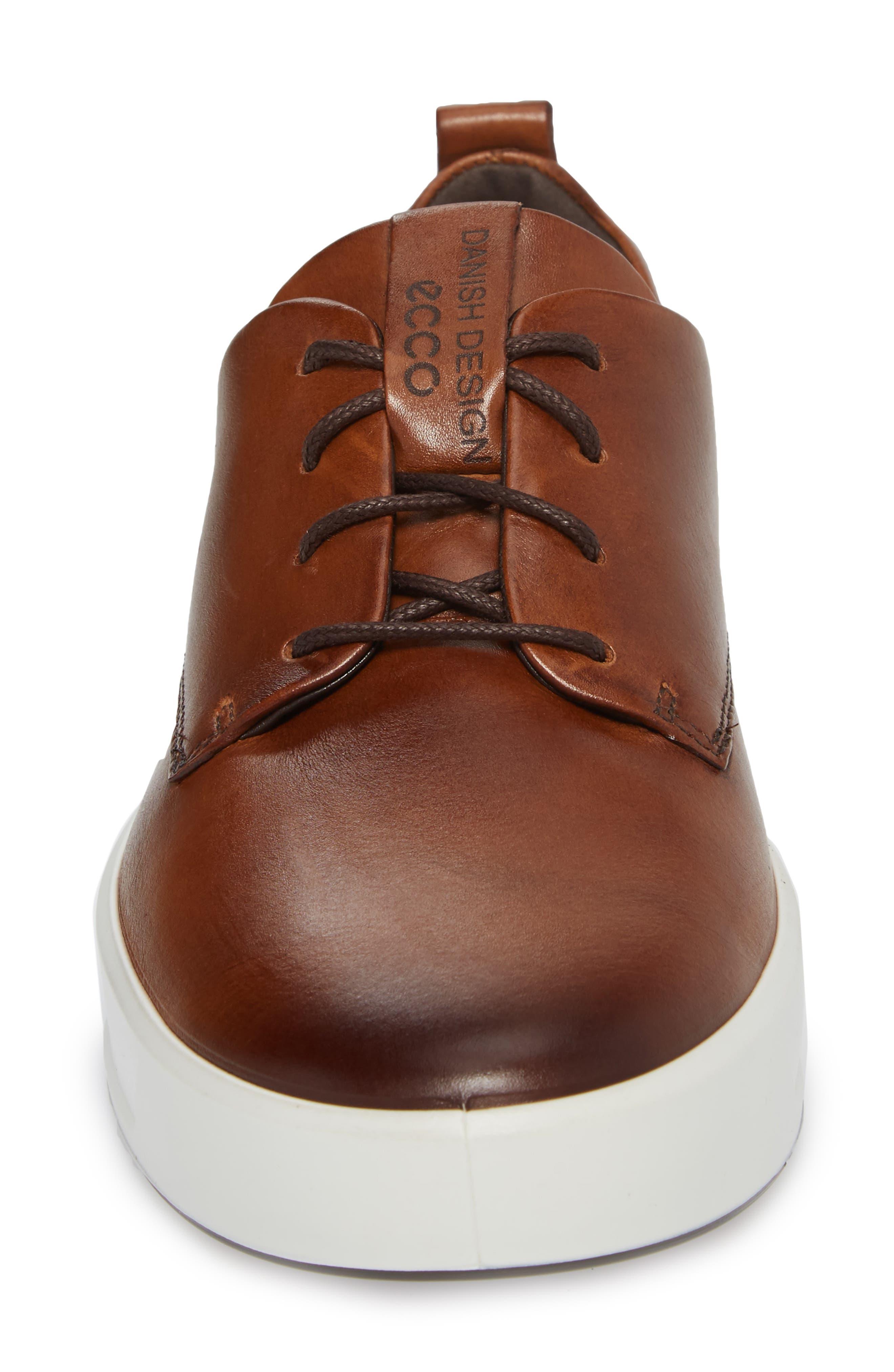 Soft 8 Street Sneaker,                             Alternate thumbnail 4, color,                             LION LEATHER
