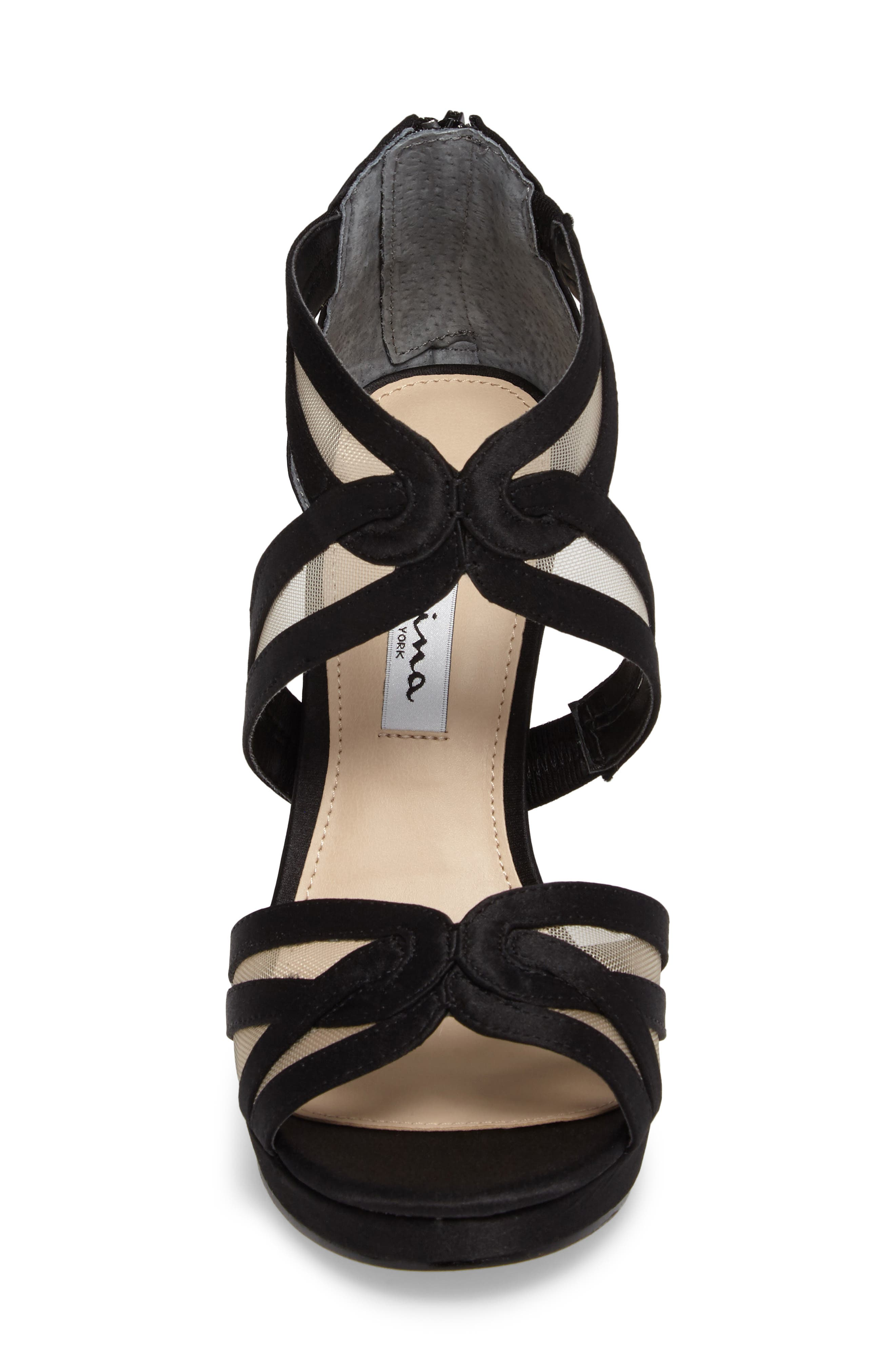 Fayette Strappy Sandal,                             Alternate thumbnail 4, color,                             003
