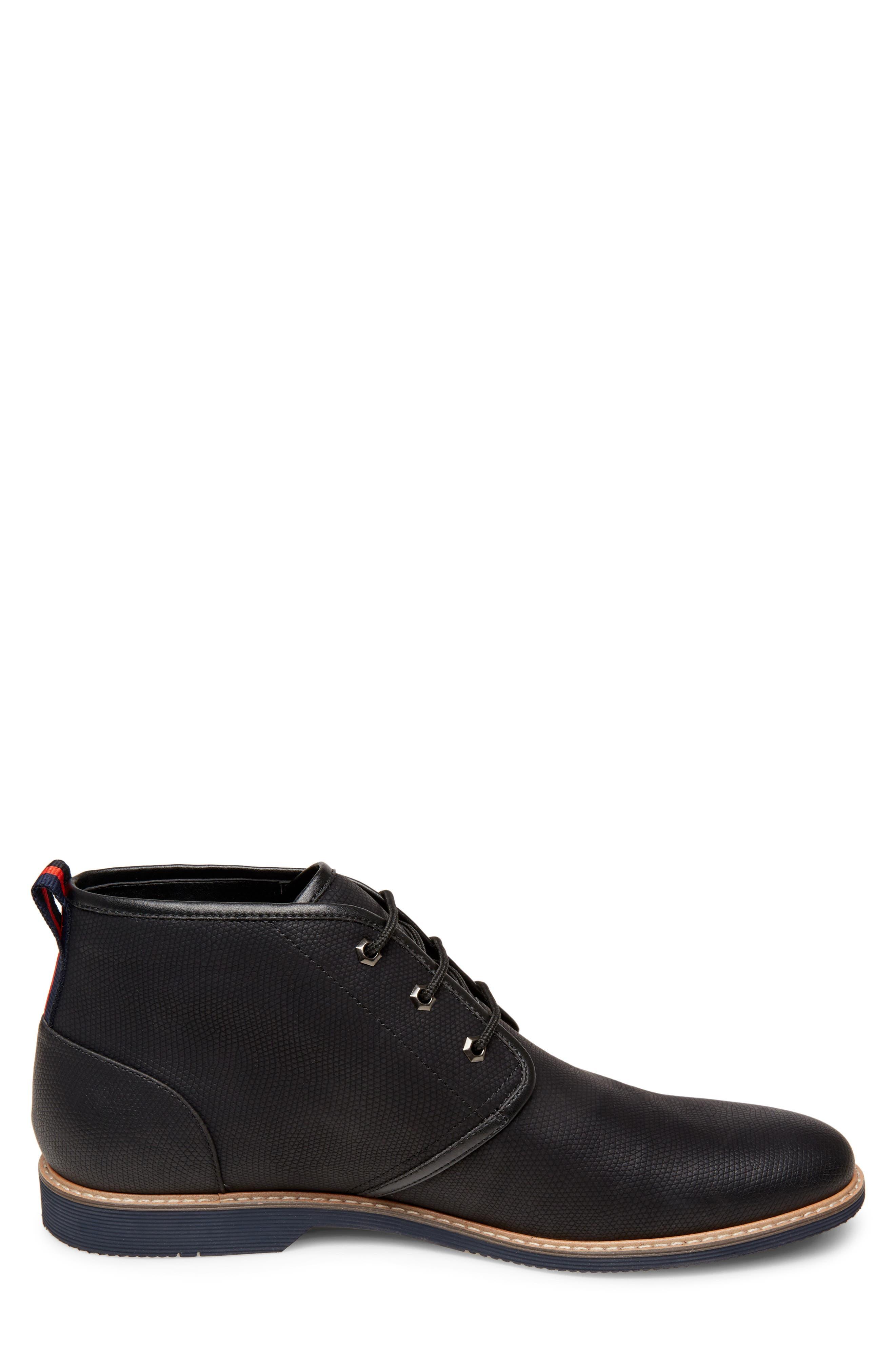 Nurture Plain Toe Boot,                             Alternate thumbnail 3, color,                             BLACK