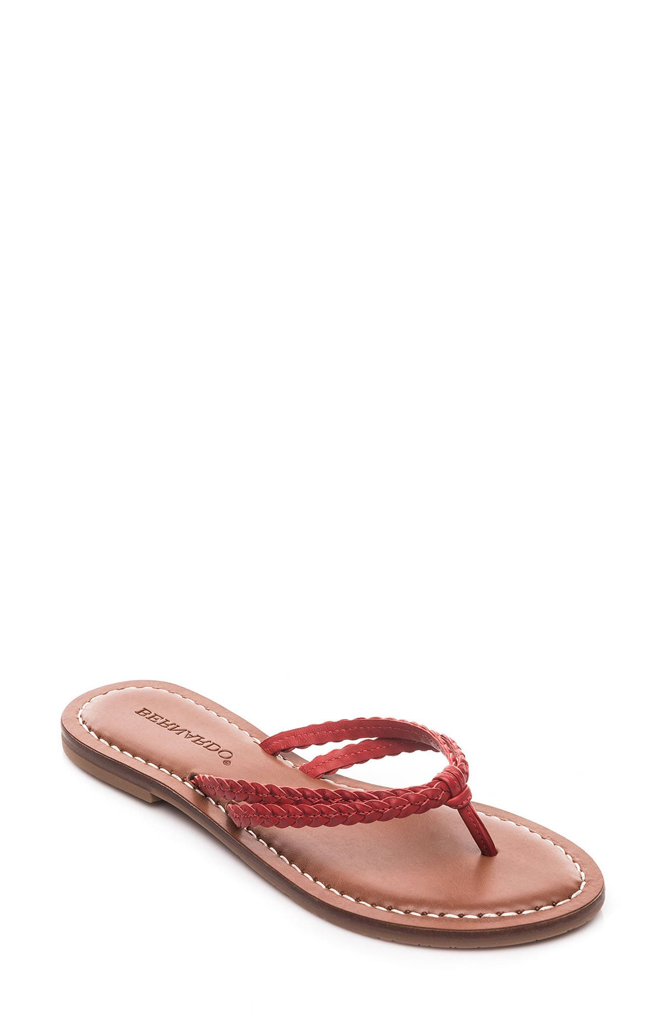 Bernardo Greta Braided Strap Sandal,                             Main thumbnail 4, color,
