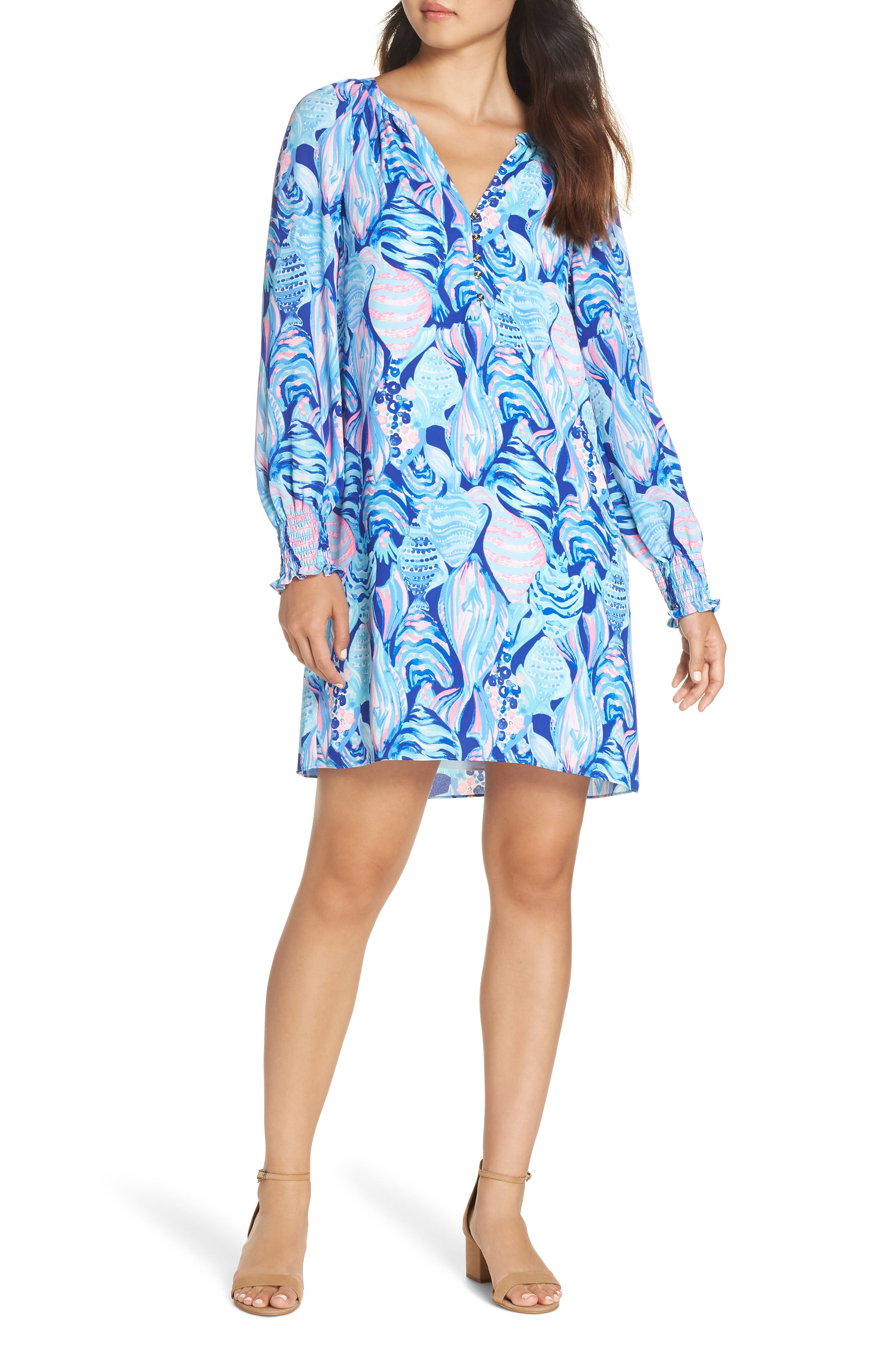 LILLY PULITZER<SUP>®</SUP>,                             Brynle Shift Dress,                             Alternate thumbnail 5, color,                             403
