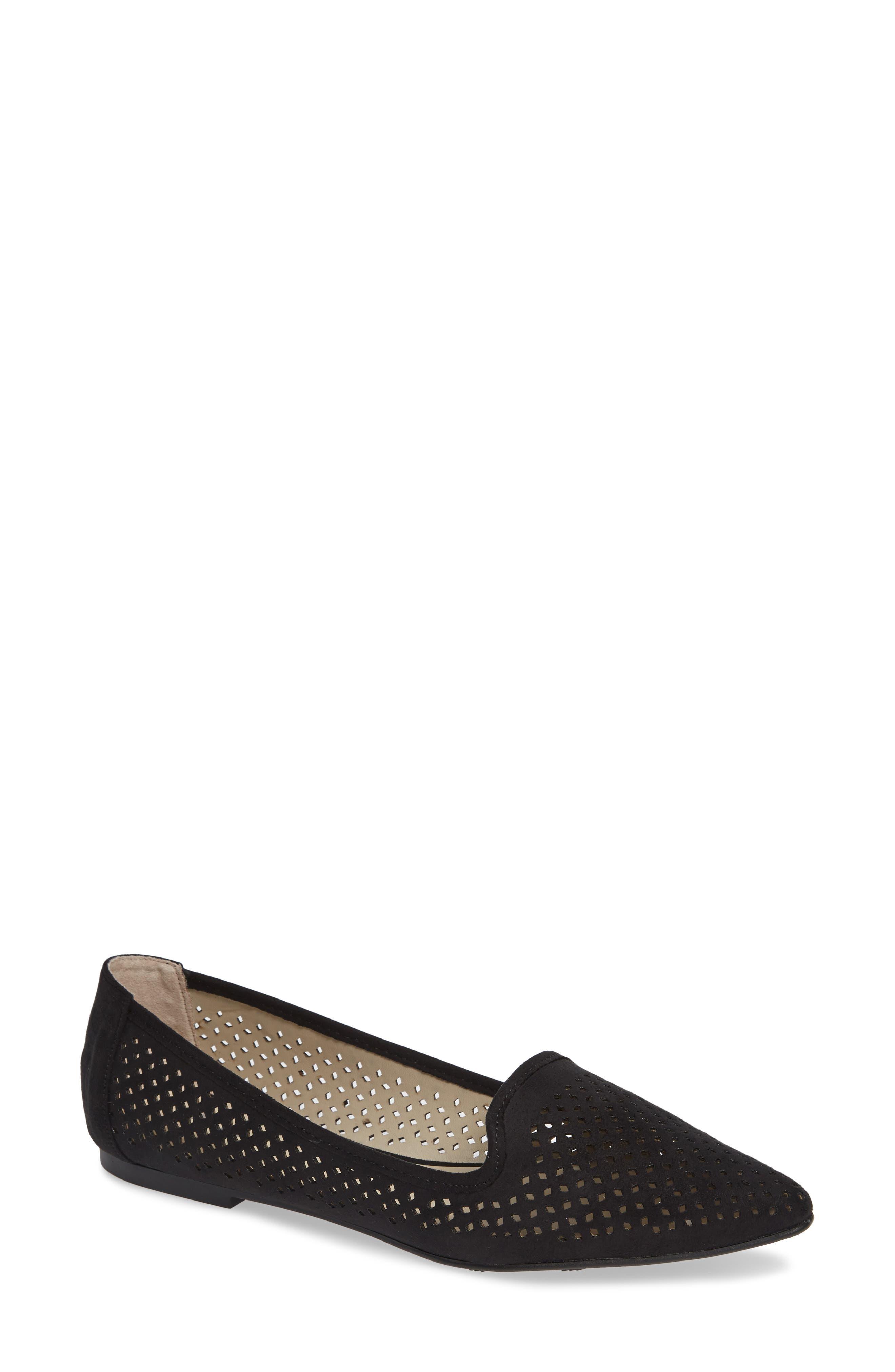 Esie Loafer, Main, color, BLACK