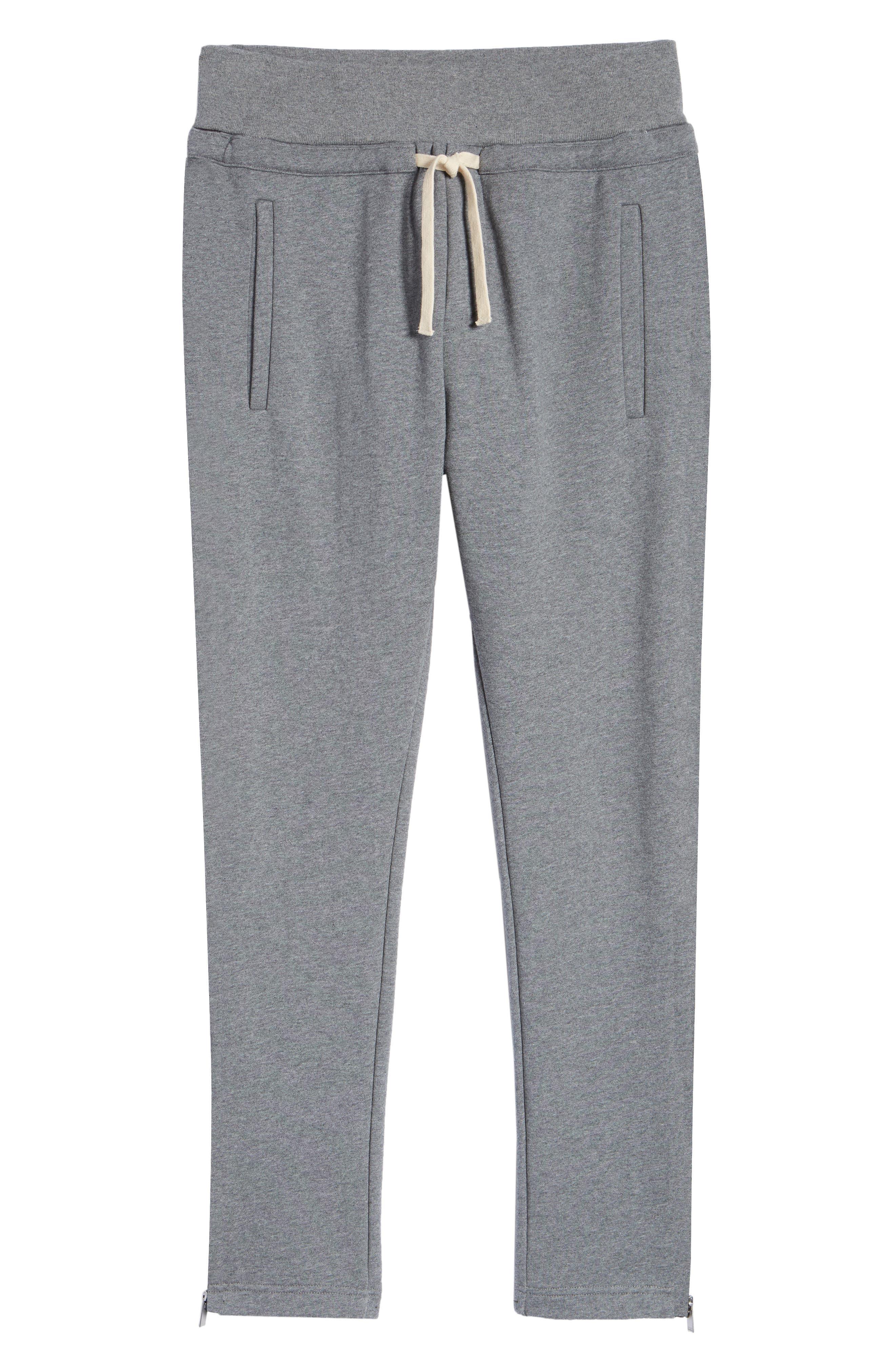 Slim Fit Jogger Pants,                             Alternate thumbnail 6, color,                             GREY