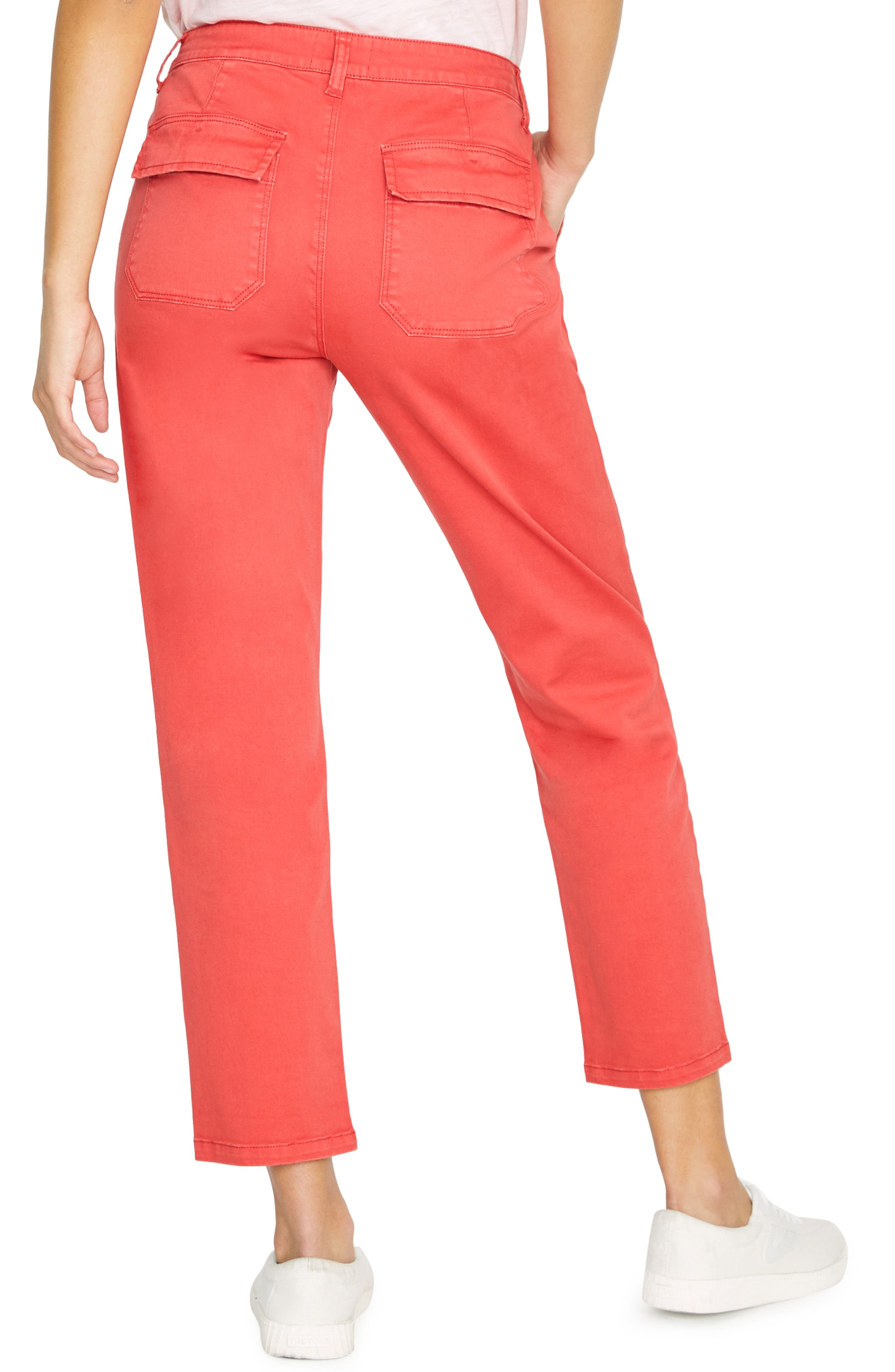 Peace Chino Pants in Poppy Red