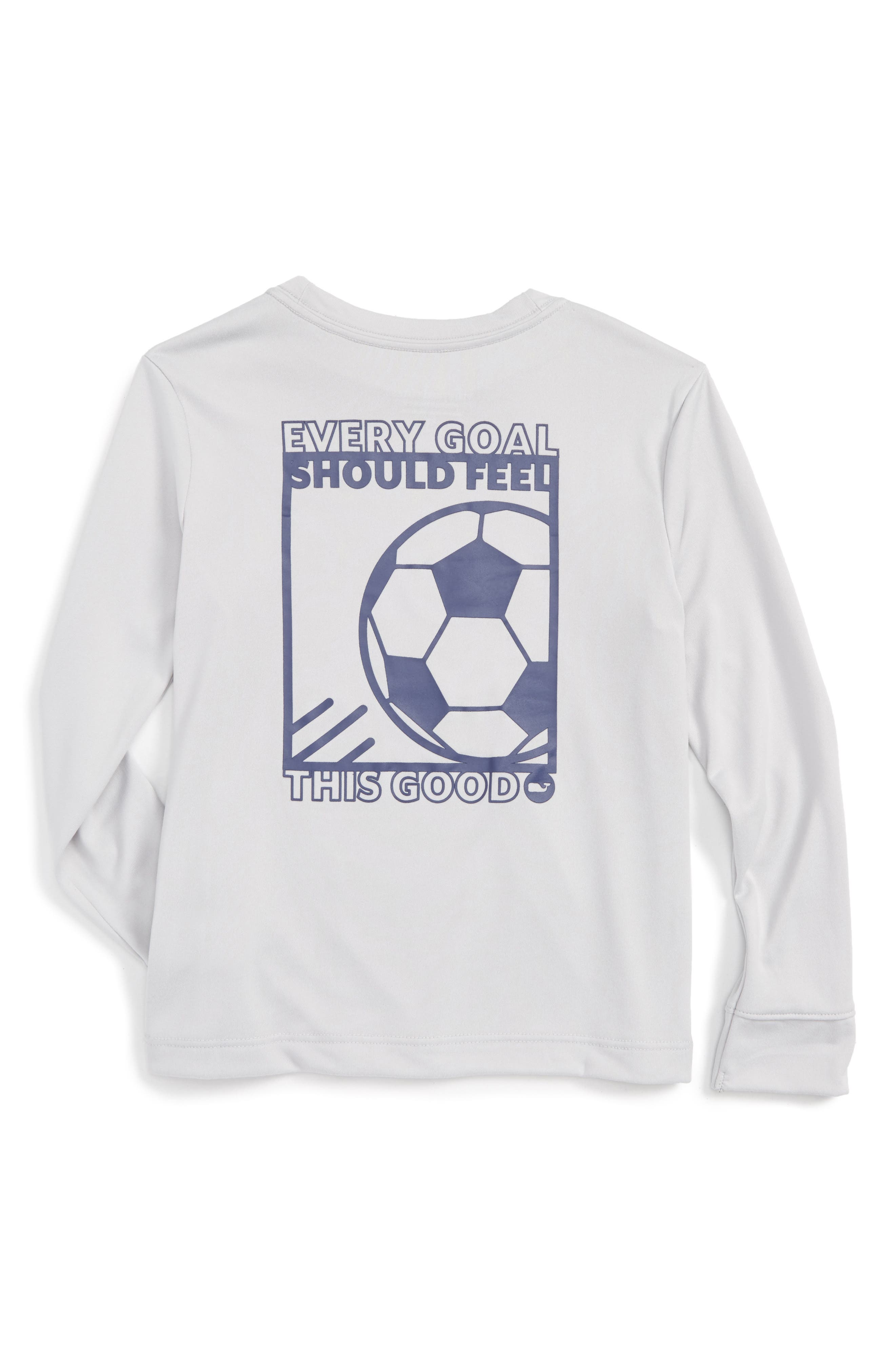 VINEYARD VINES Soccer Box Performance T-Shirt, Main, color, 062