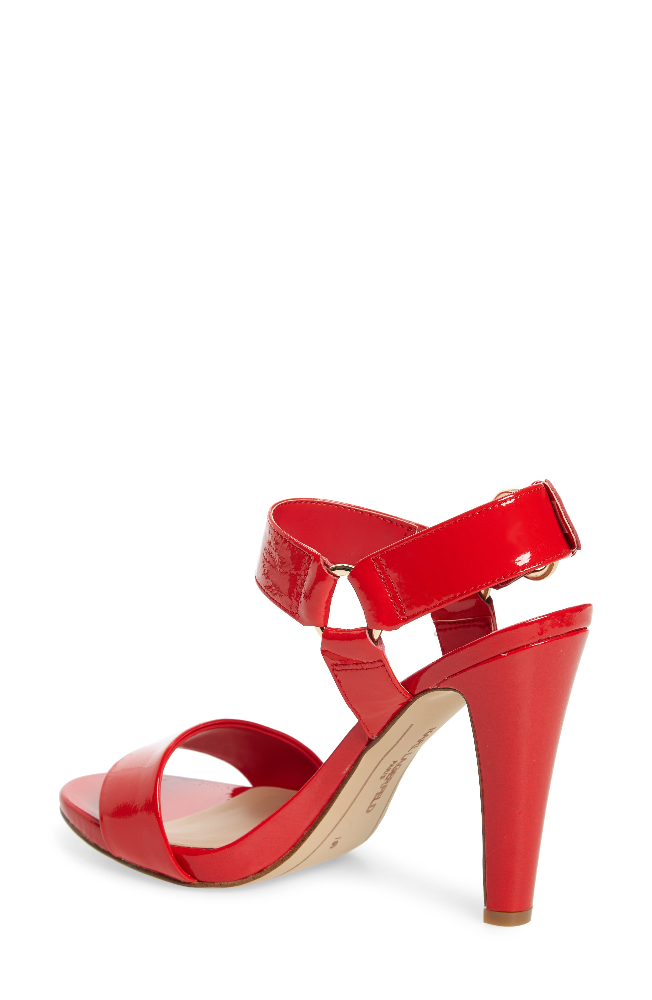 Cieone Sandal,                             Alternate thumbnail 2, color,                             RED PATENT