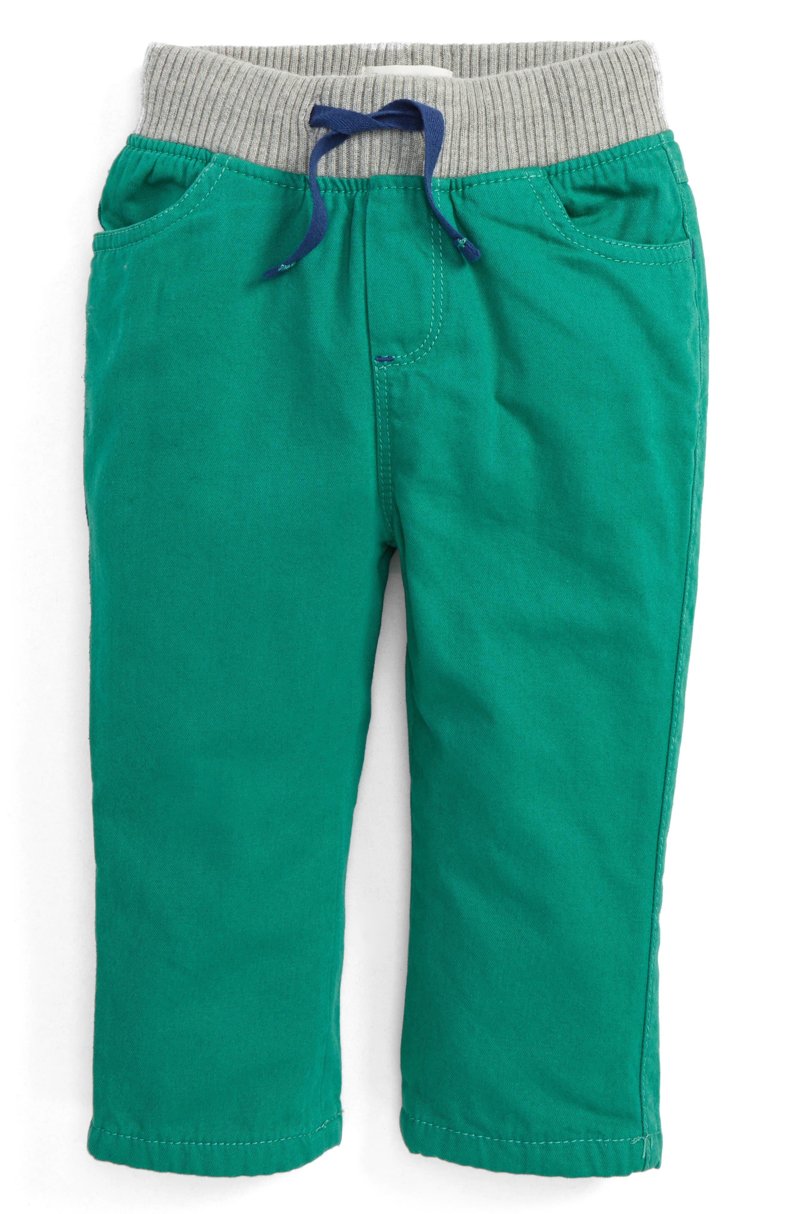 Rib Waist Pants,                         Main,                         color,