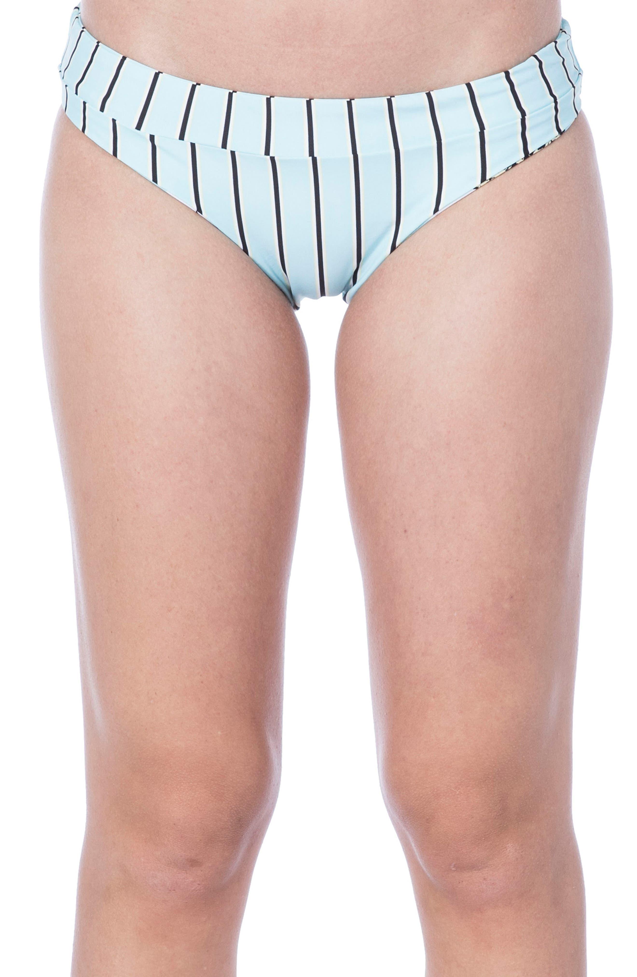 Pineapple Banded Hipster Bikini Bottoms,                             Alternate thumbnail 2, color,                             415