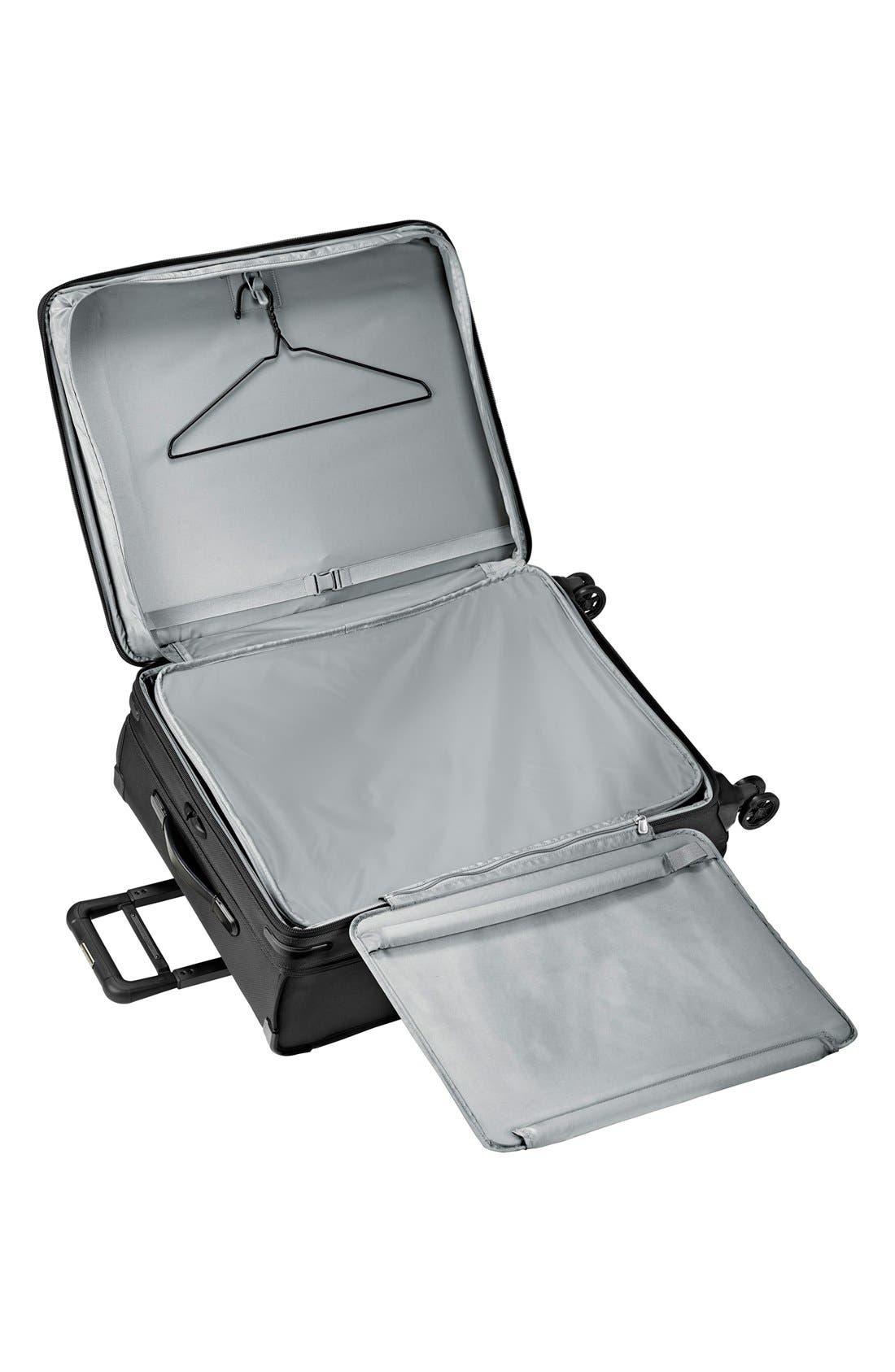 'Baseline' Large Expandable Rolling Packing Case,                             Alternate thumbnail 3, color,                             BLACK