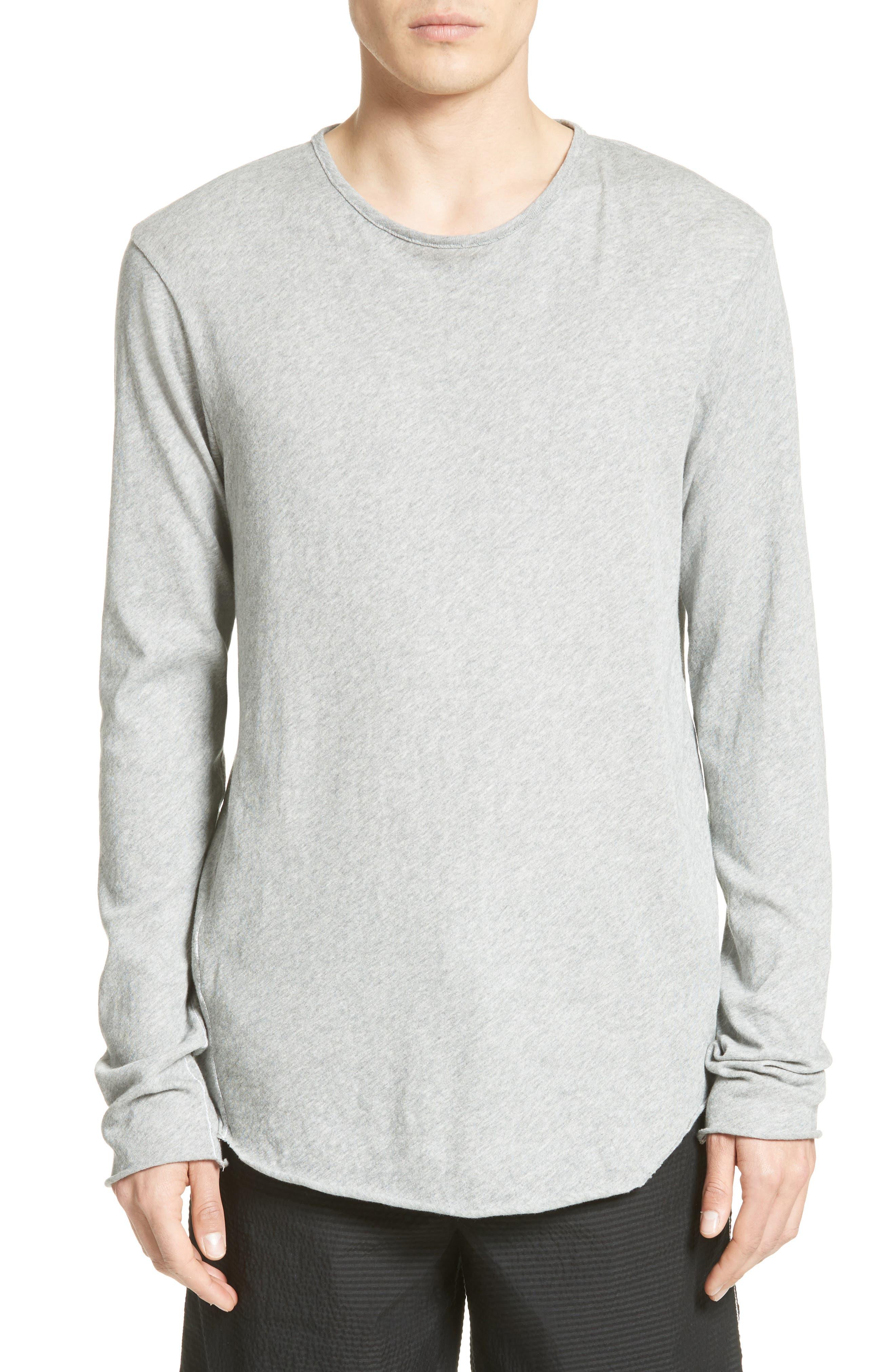 Hartley Cotton & Linen T-Shirt,                         Main,                         color, 034