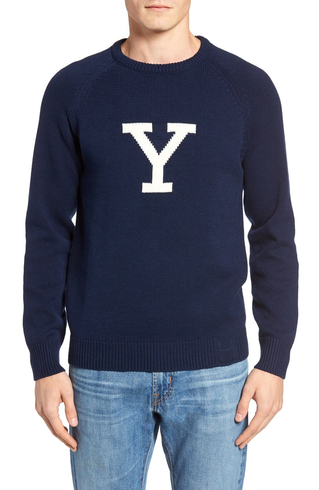 Yale Heritage Sweater,                             Main thumbnail 1, color,                             400
