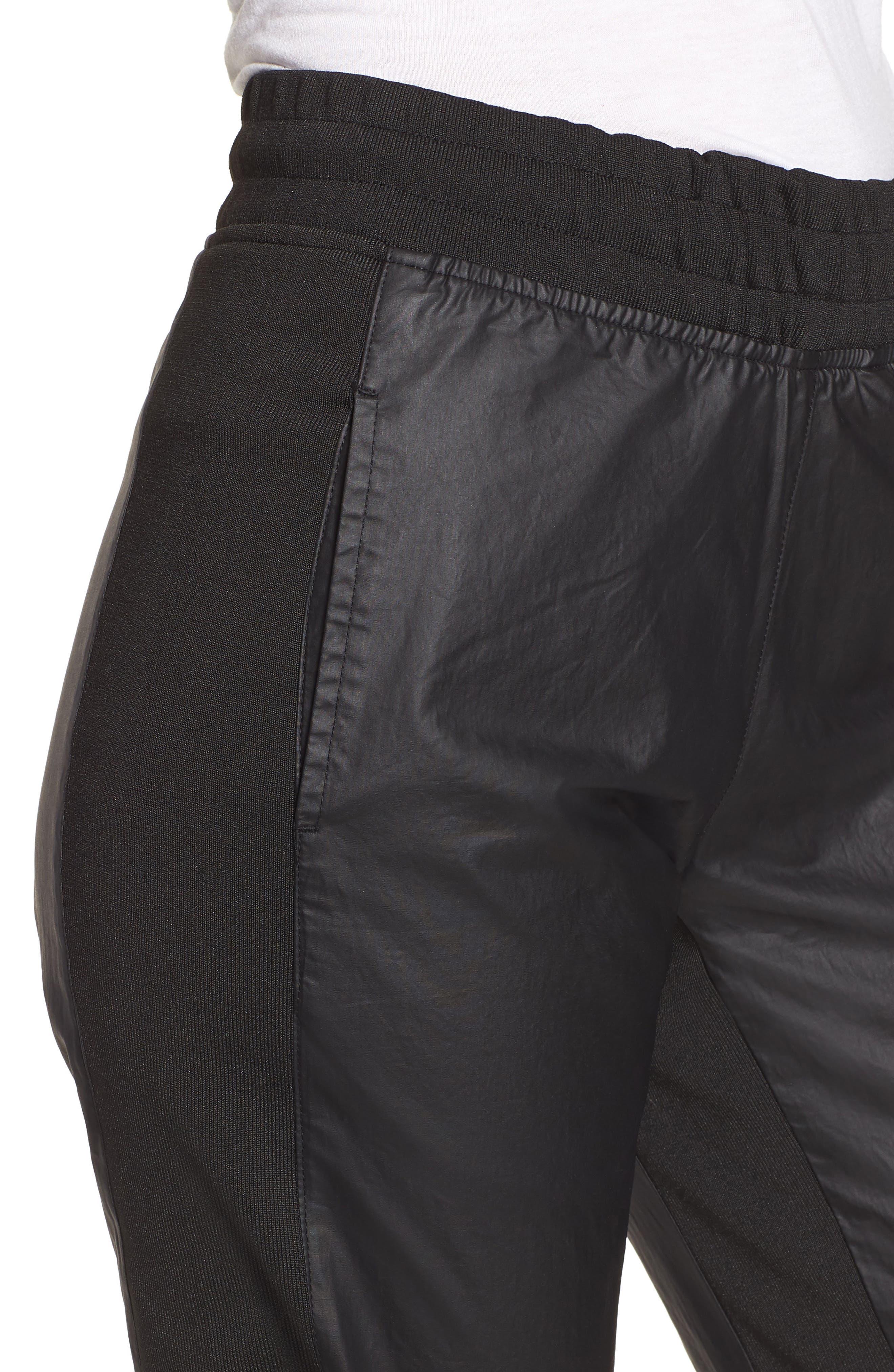 Paneled Jogger Pants,                             Alternate thumbnail 4, color,                             001