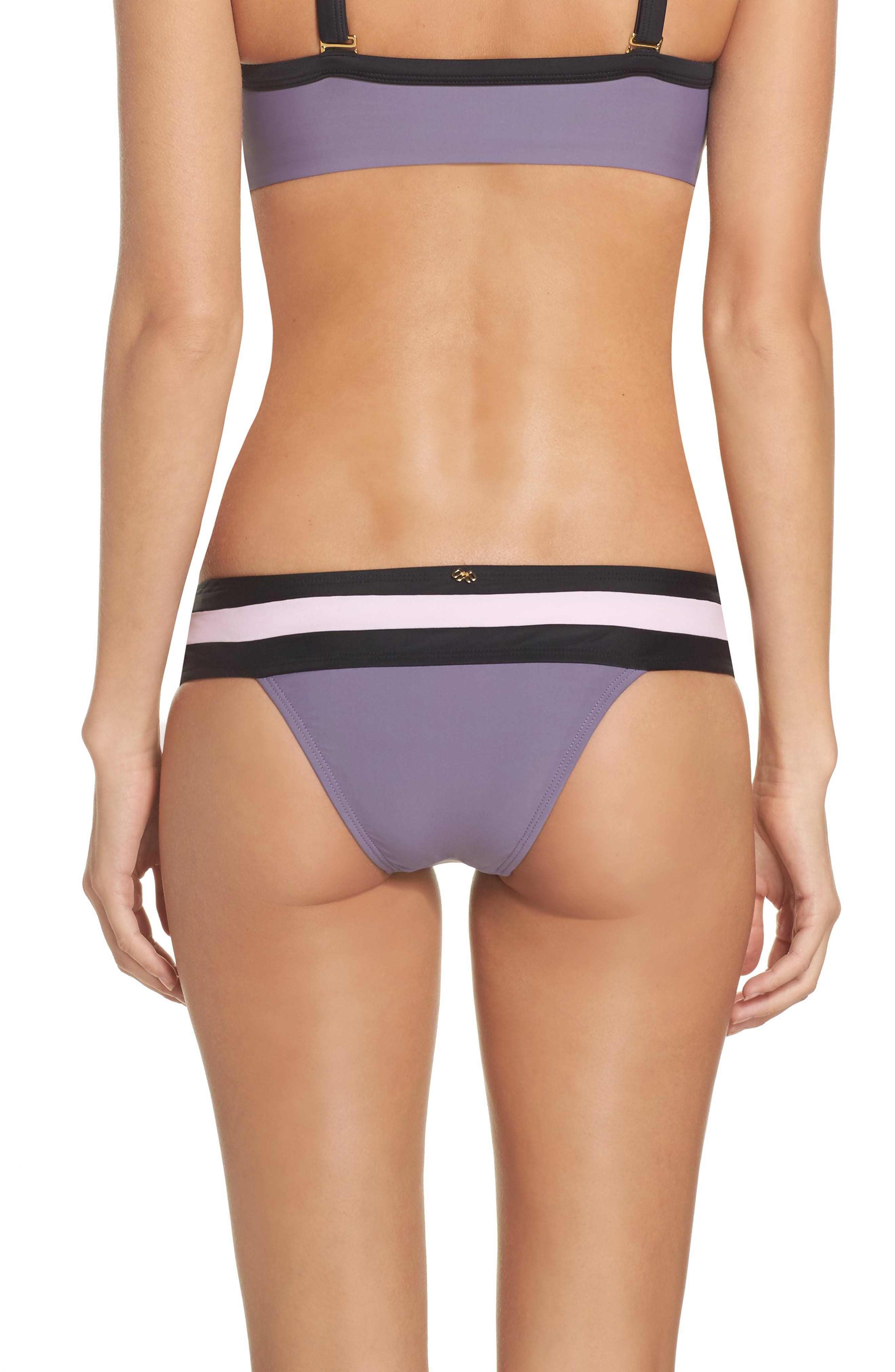 Swimwear Bikini Bottoms,                             Alternate thumbnail 4, color,