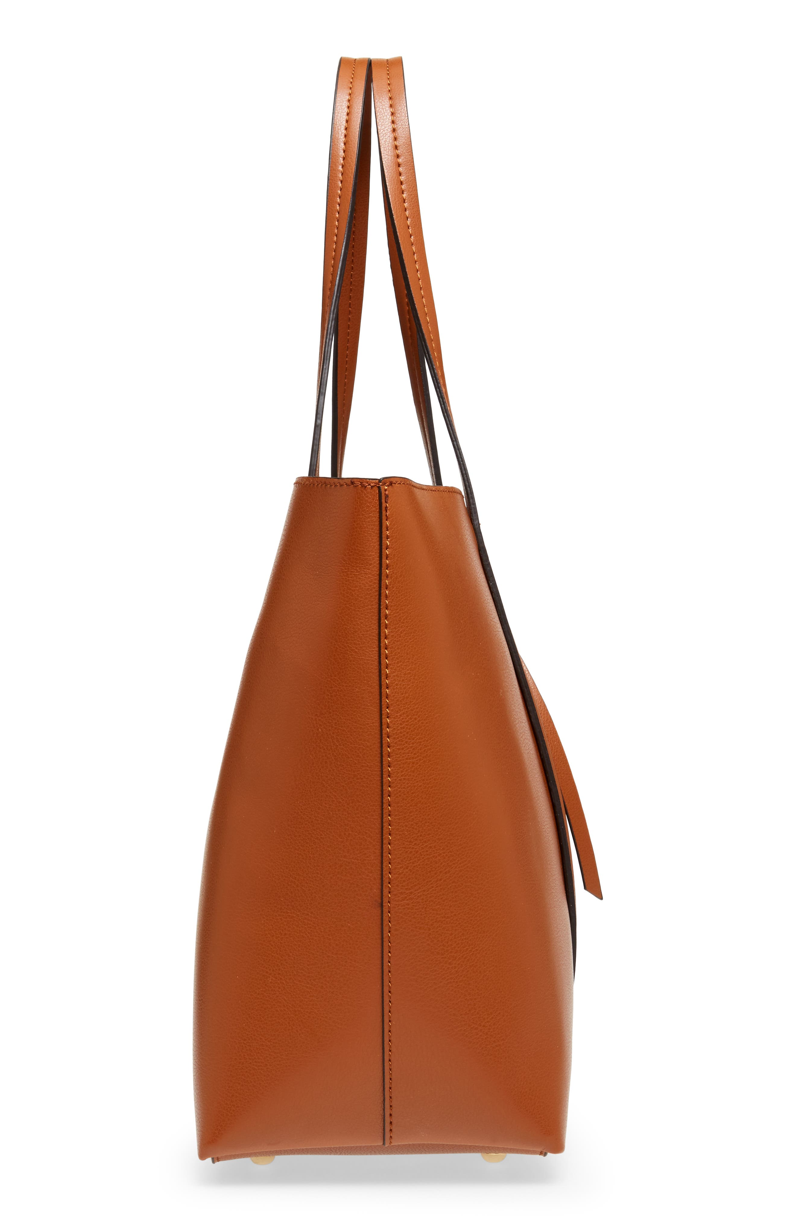Oversize City Faux Leather Tote,                             Alternate thumbnail 5, color,                             200