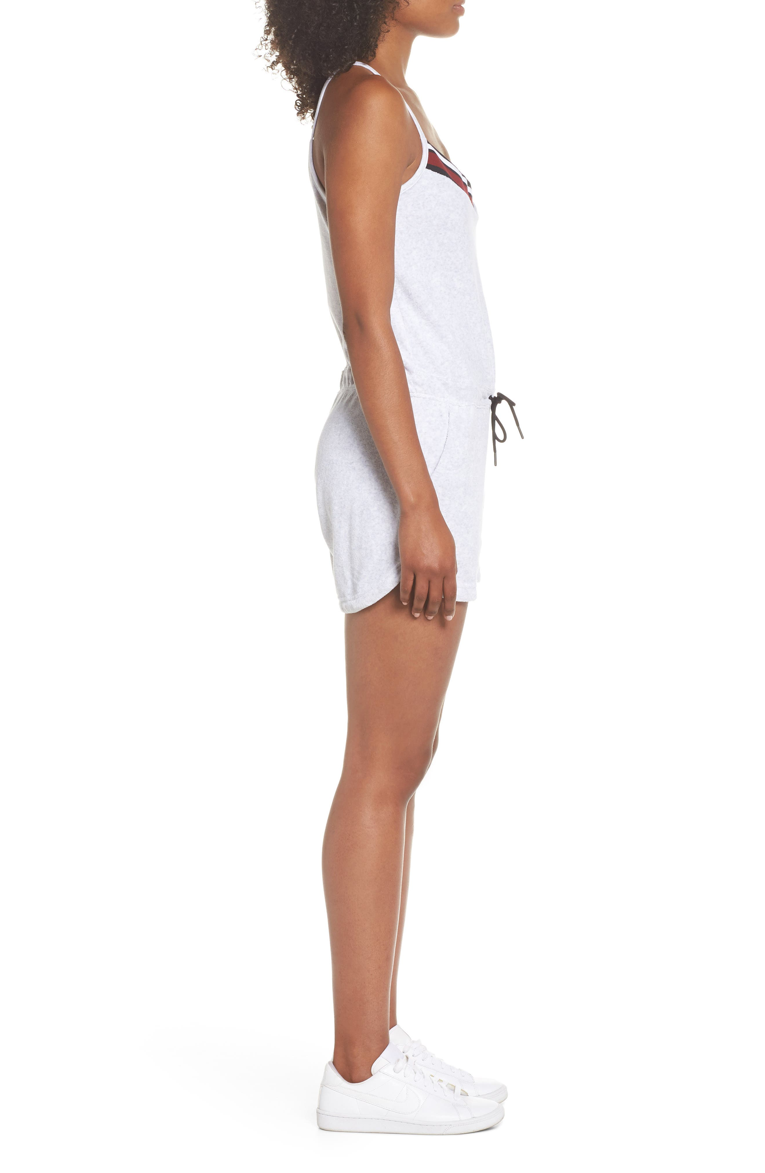 Sportswear Terry Romper,                             Alternate thumbnail 10, color,