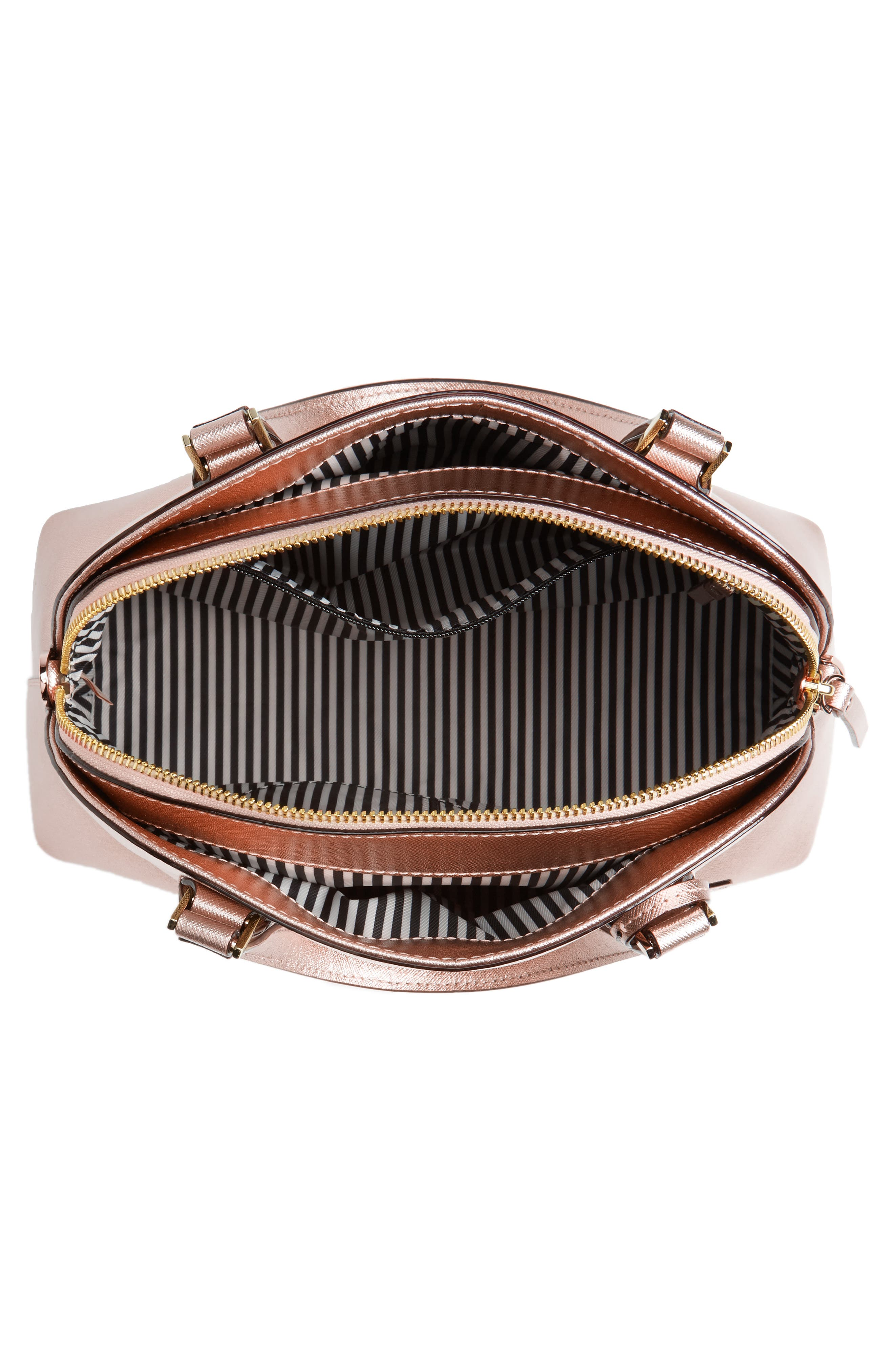 cameron street - lottie leather satchel,                             Alternate thumbnail 4, color,                             650