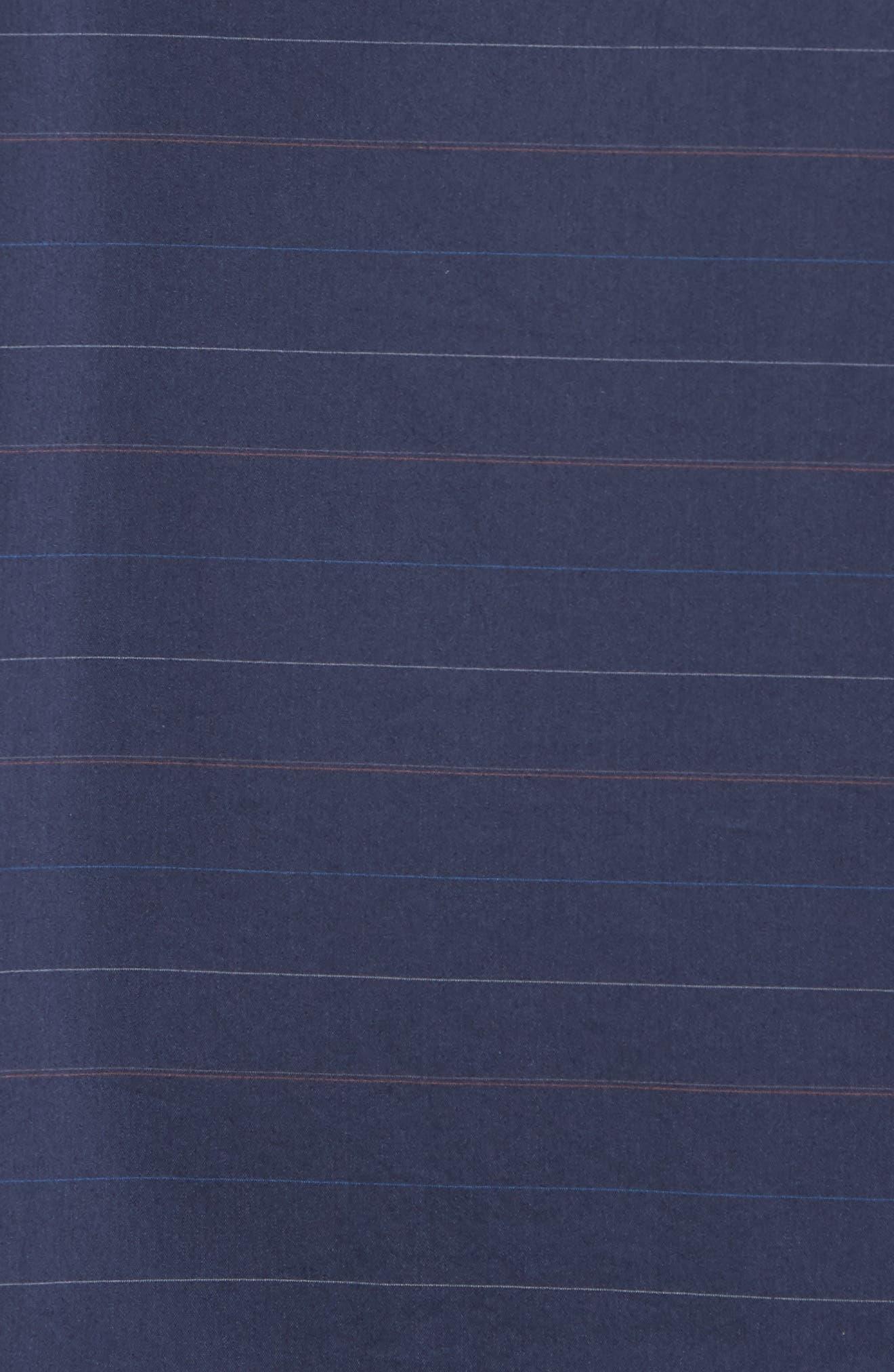 Linear Slim Fit Sport Shirt,                             Alternate thumbnail 5, color,                             400