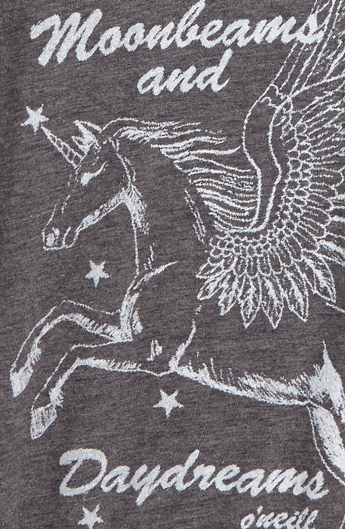 Billabong Moonbeams and Daydreams Graphic Tee,                             Alternate thumbnail 4, color,