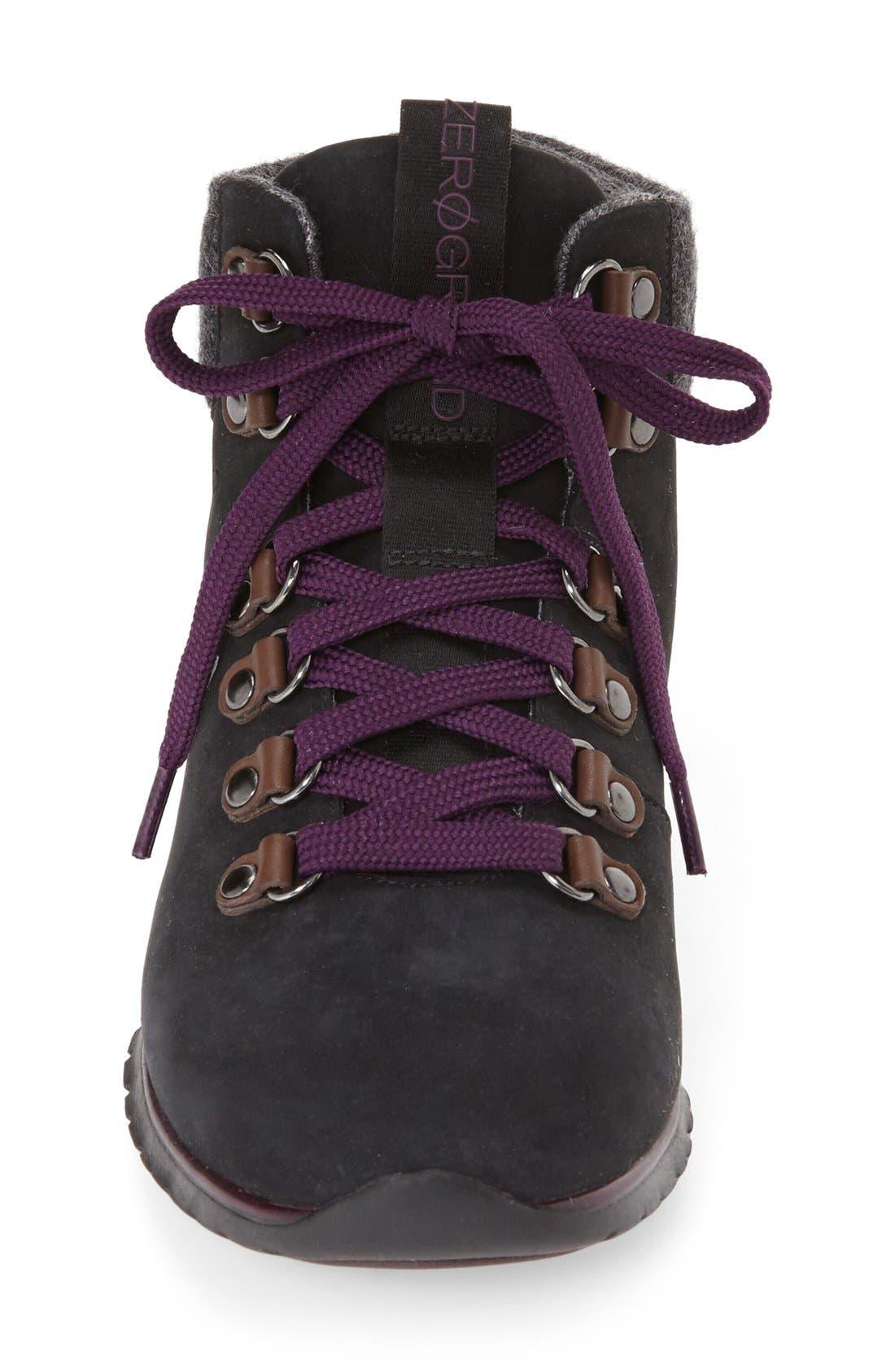 'ZerøGrand' Waterproof Hiking Boot,                             Alternate thumbnail 2, color,                             001