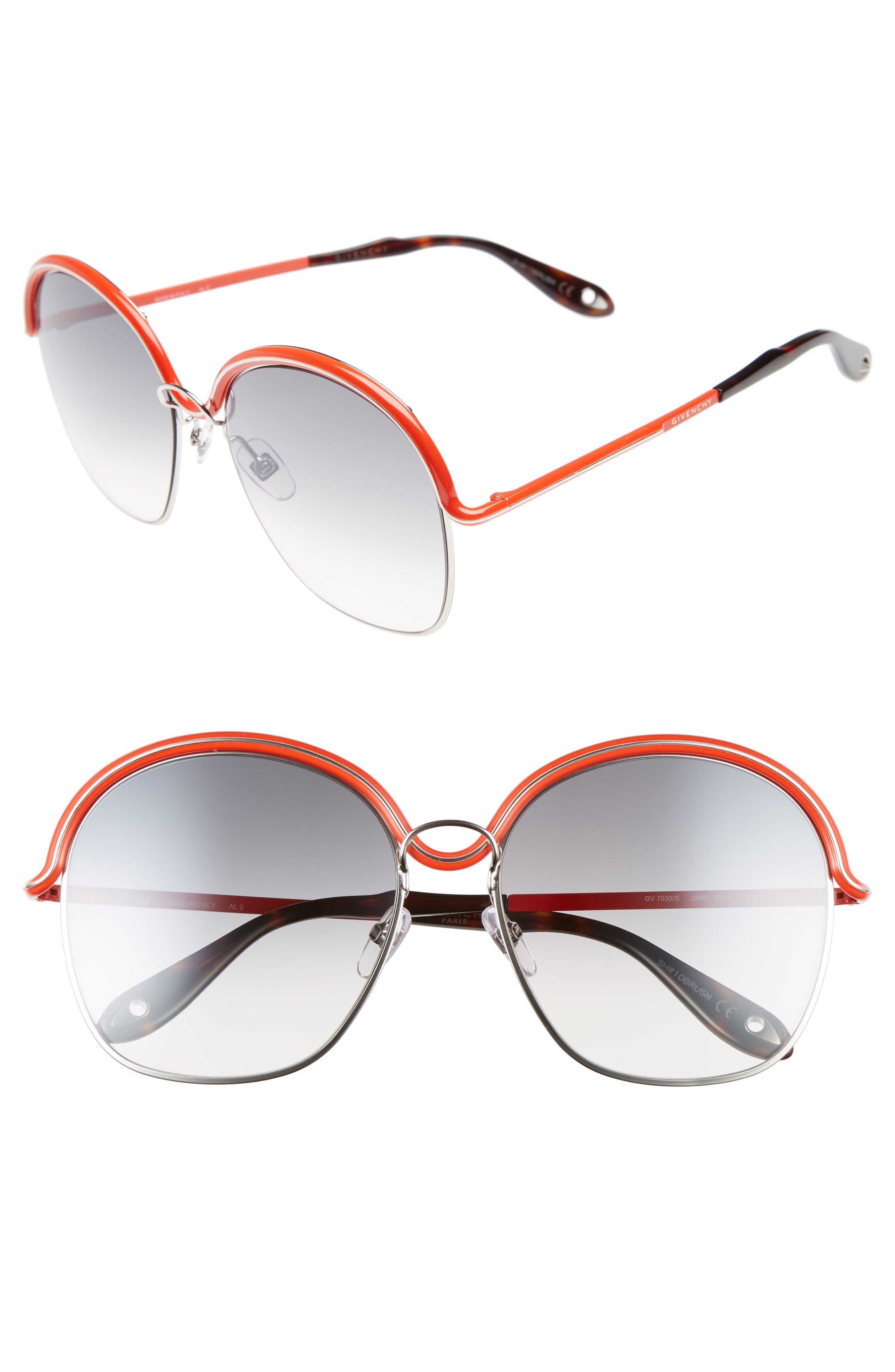 7030/S 58mm Oversized Sunglasses,                             Main thumbnail 1, color,                             040