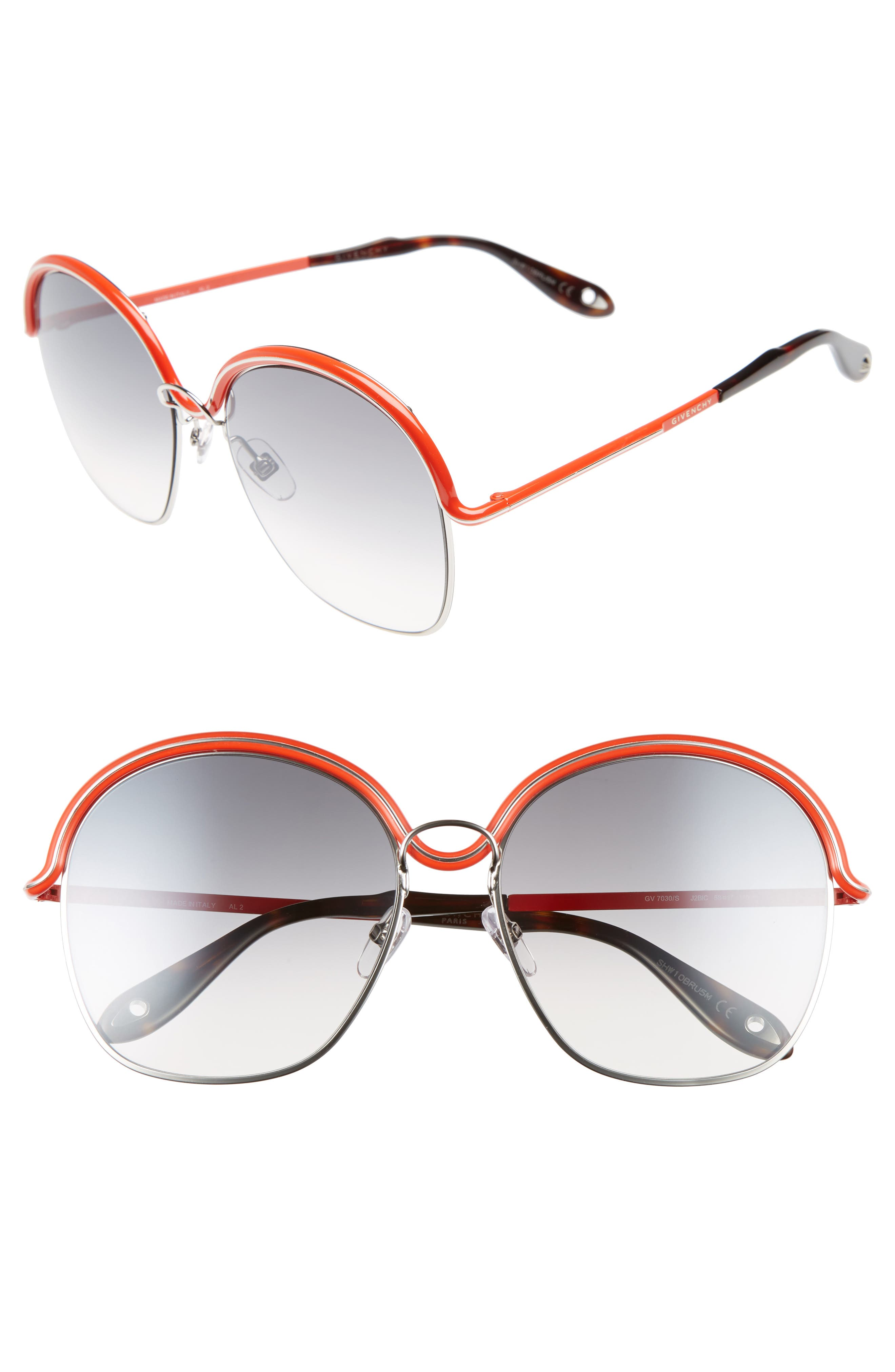 7030/S 58mm Oversized Sunglasses,                         Main,                         color, 040