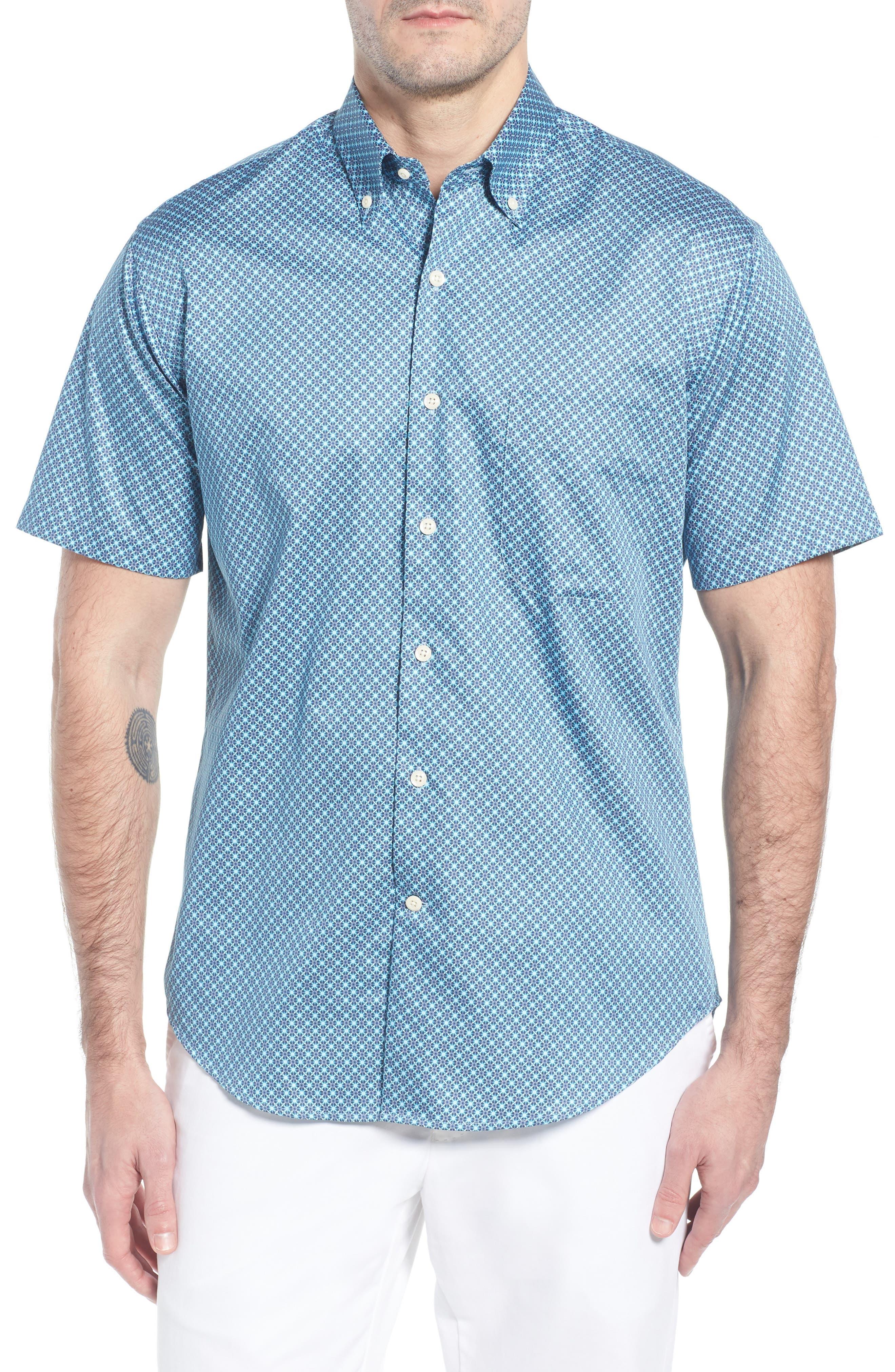 Get Kracken Sport Shirt,                             Main thumbnail 1, color,                             424