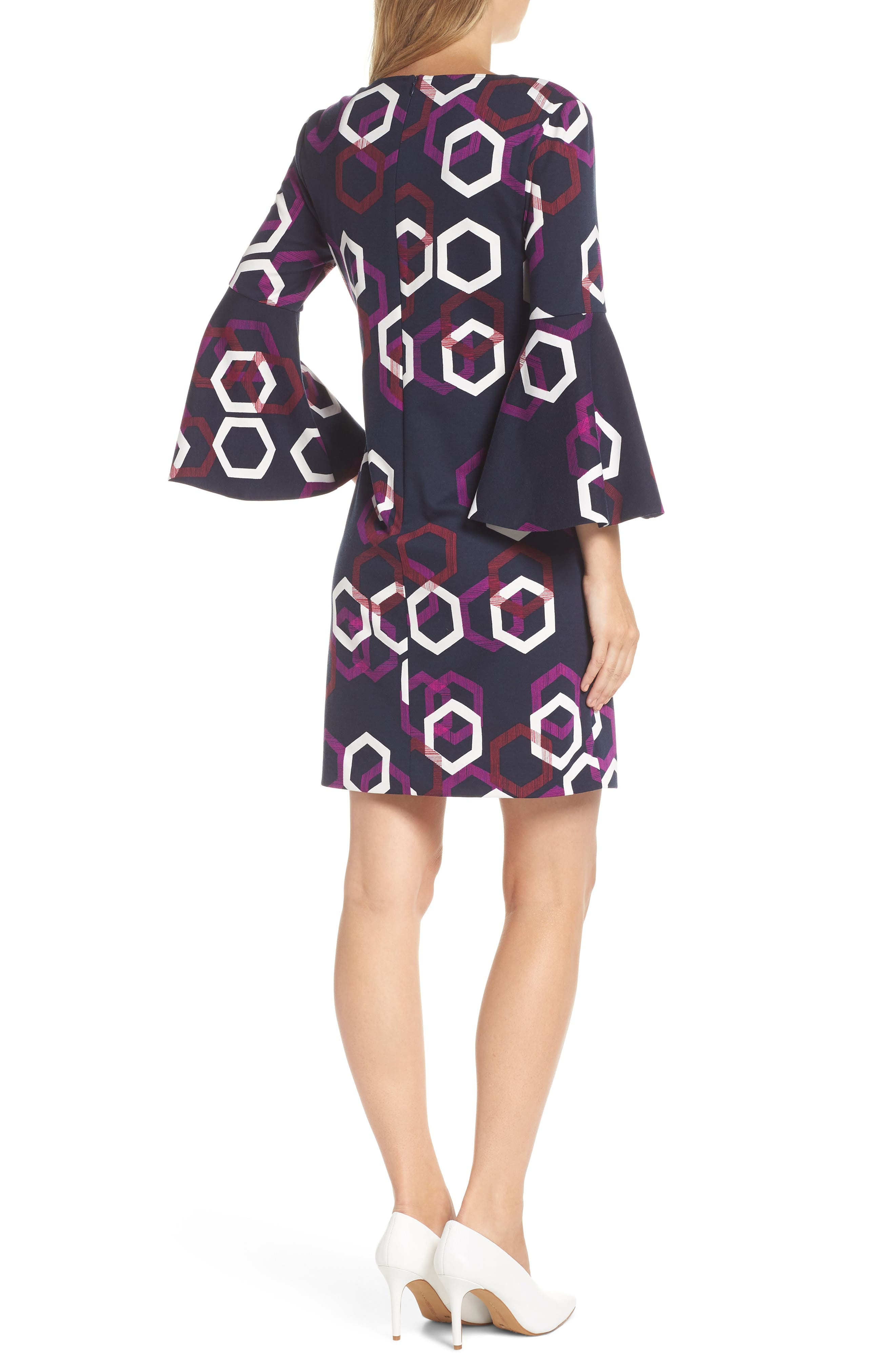 Pali Hexagon Dress,                             Alternate thumbnail 2, color,                             MULTI